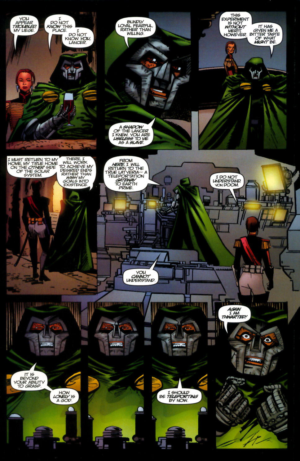 Read online Doom: The Emperor Returns comic -  Issue #1 - 18