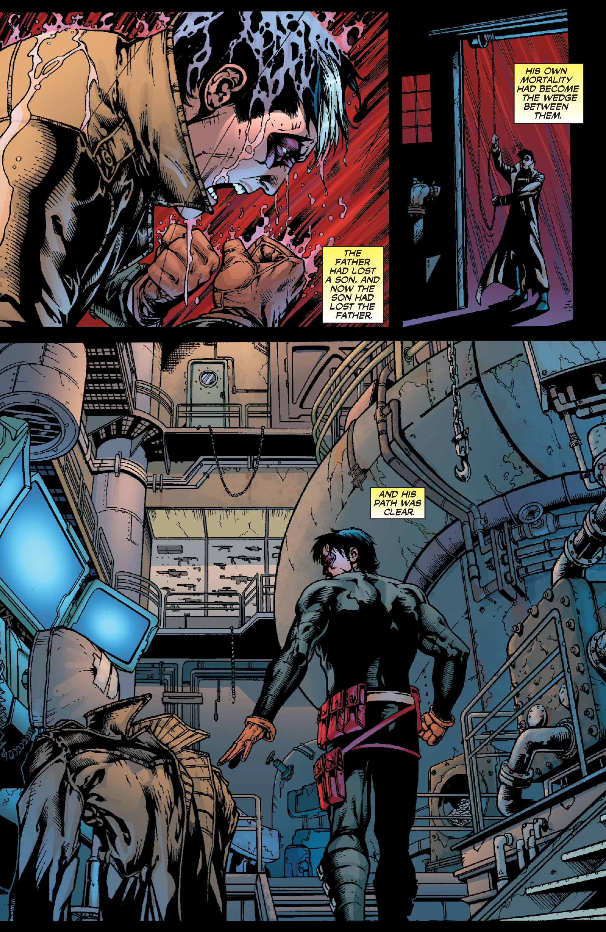 Read online Batman: Under The Red Hood comic -  Issue # Full - 355