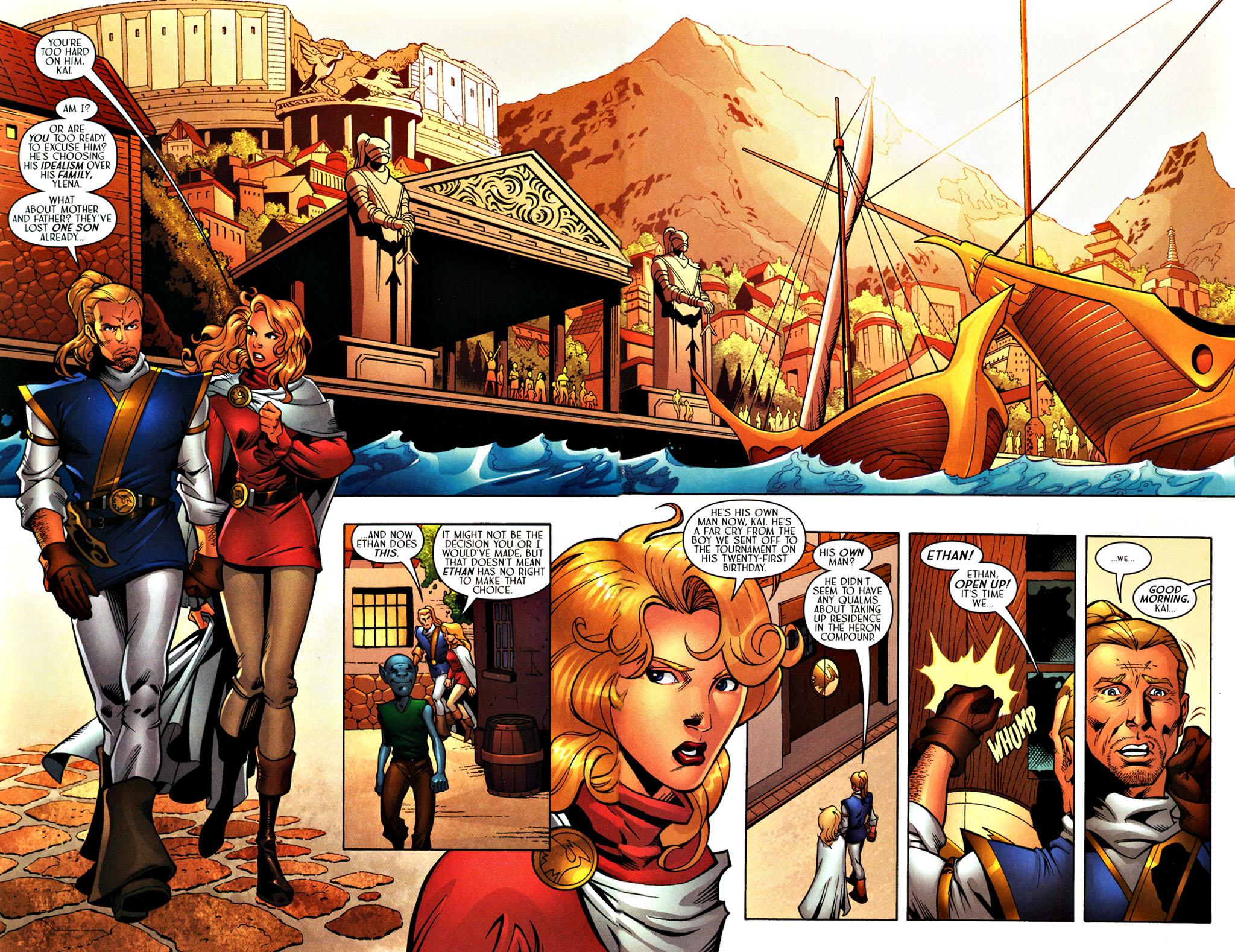 Read online Scion comic -  Issue #27 - 4
