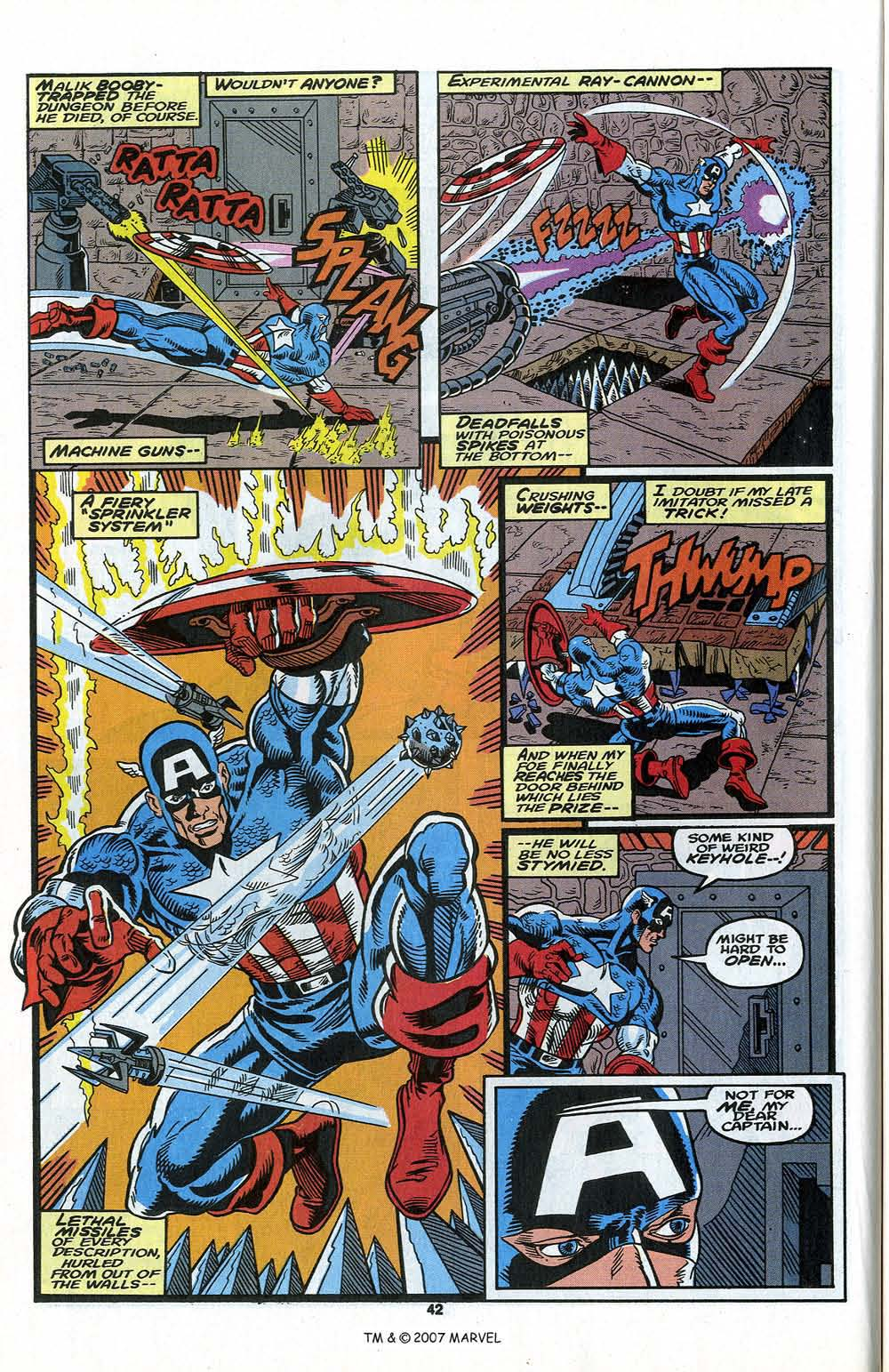 Read online Captain America (1968) comic -  Issue # _Annual 13 - 44