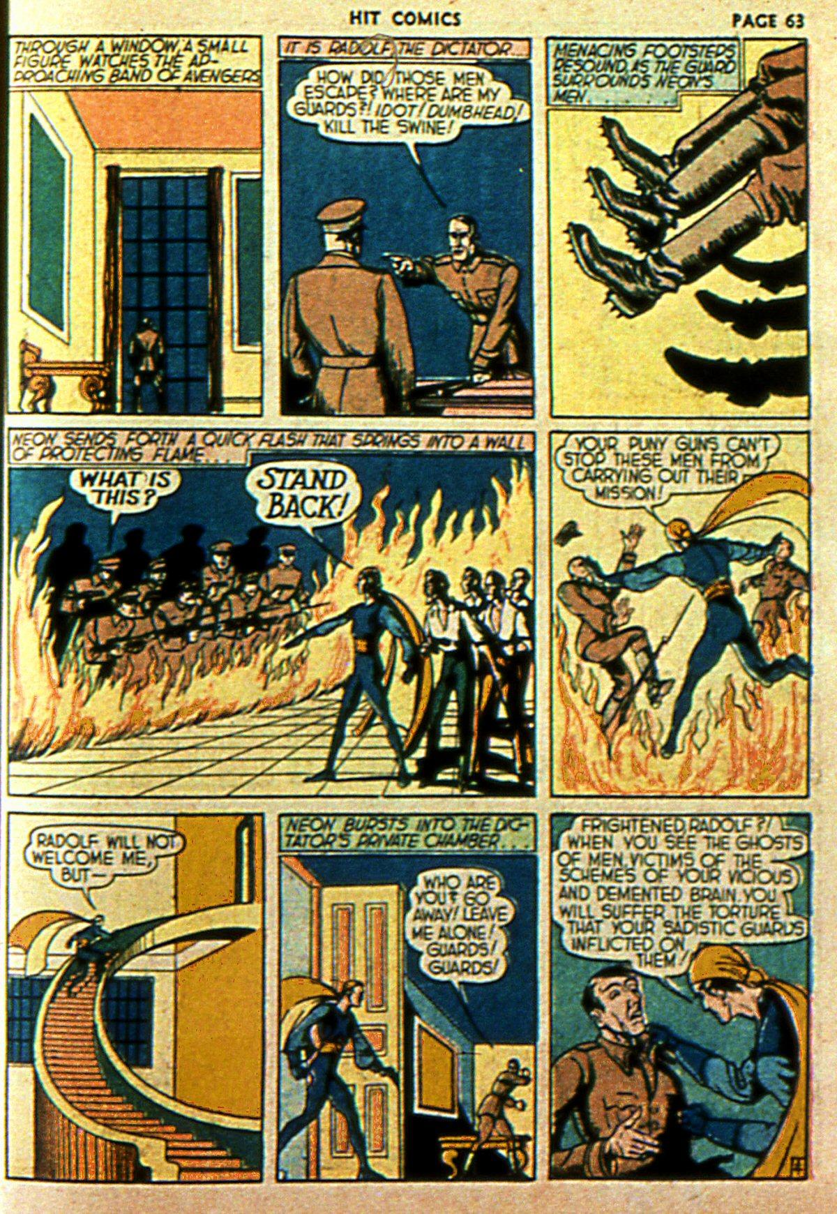Read online Hit Comics comic -  Issue #2 - 65