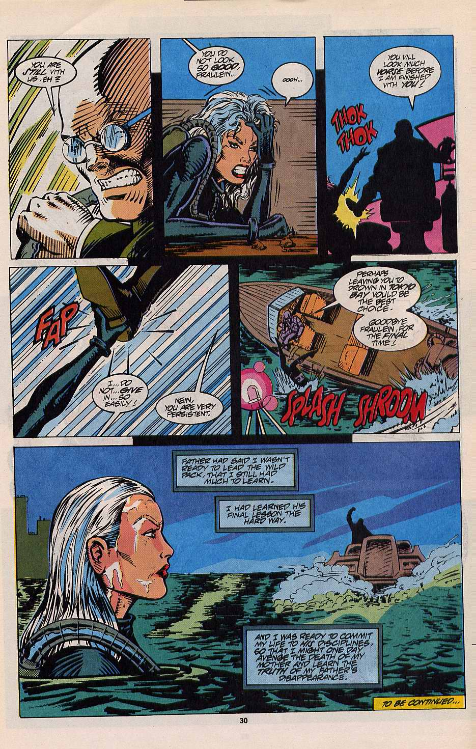 Read online Silver Sable and the Wild Pack comic -  Issue #12 - 24