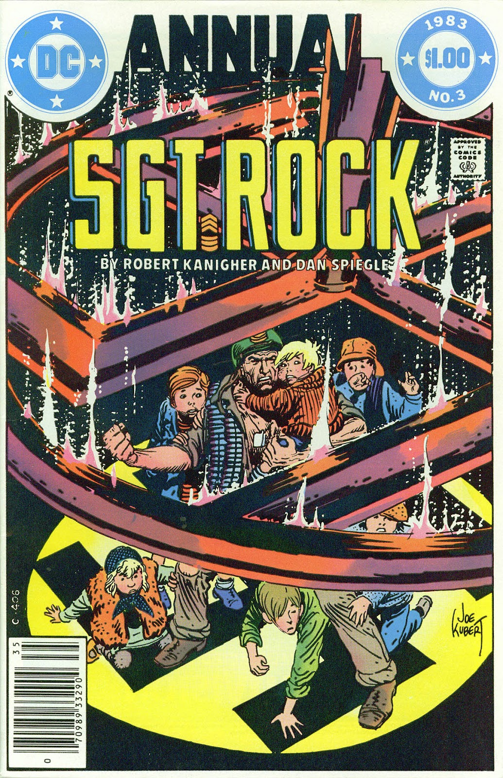 Sgt. Rock issue Annual 3 - Page 1