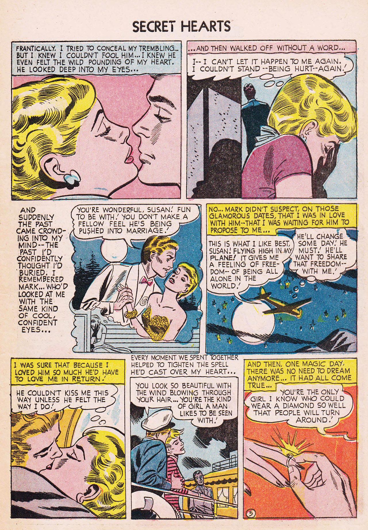 Read online Secret Hearts comic -  Issue #24 - 7