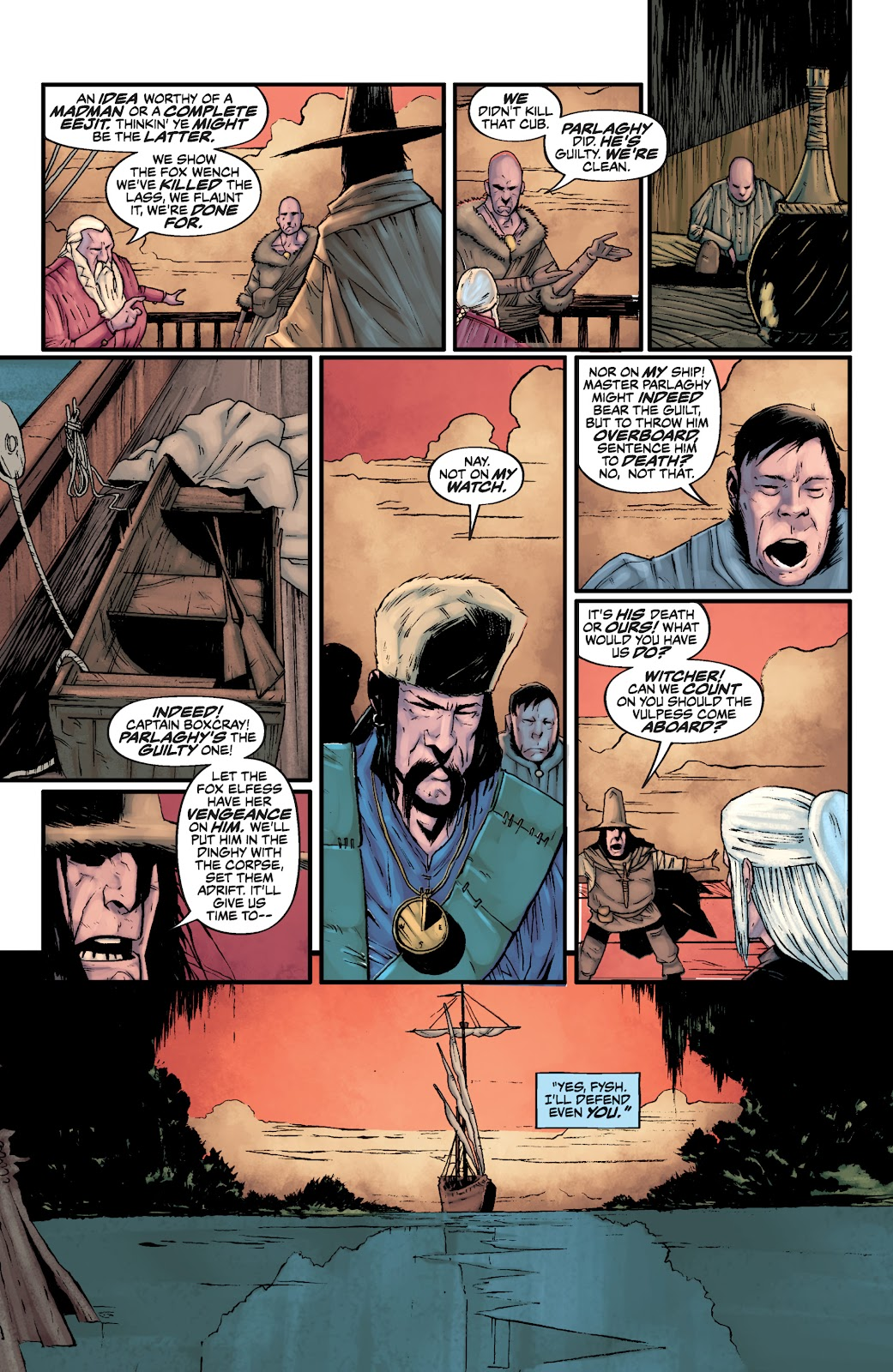 Read online The Witcher Omnibus comic -  Issue # TPB (Part 3) - 3