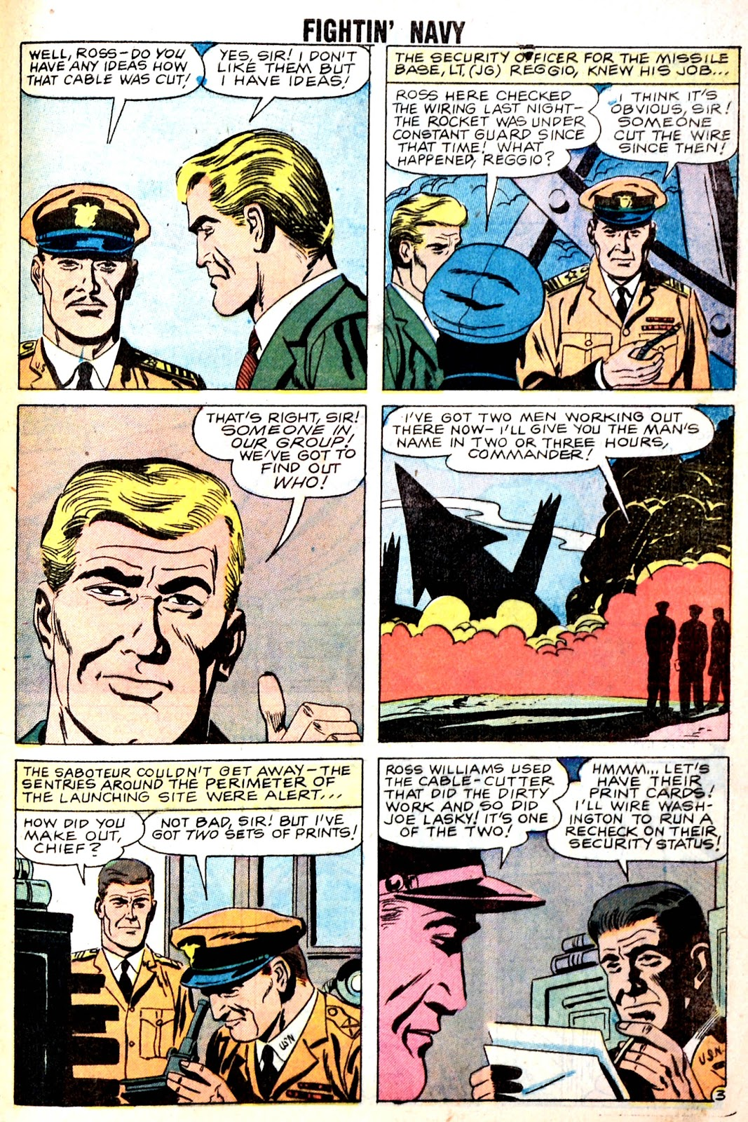 Read online Fightin' Navy comic -  Issue #85 - 29
