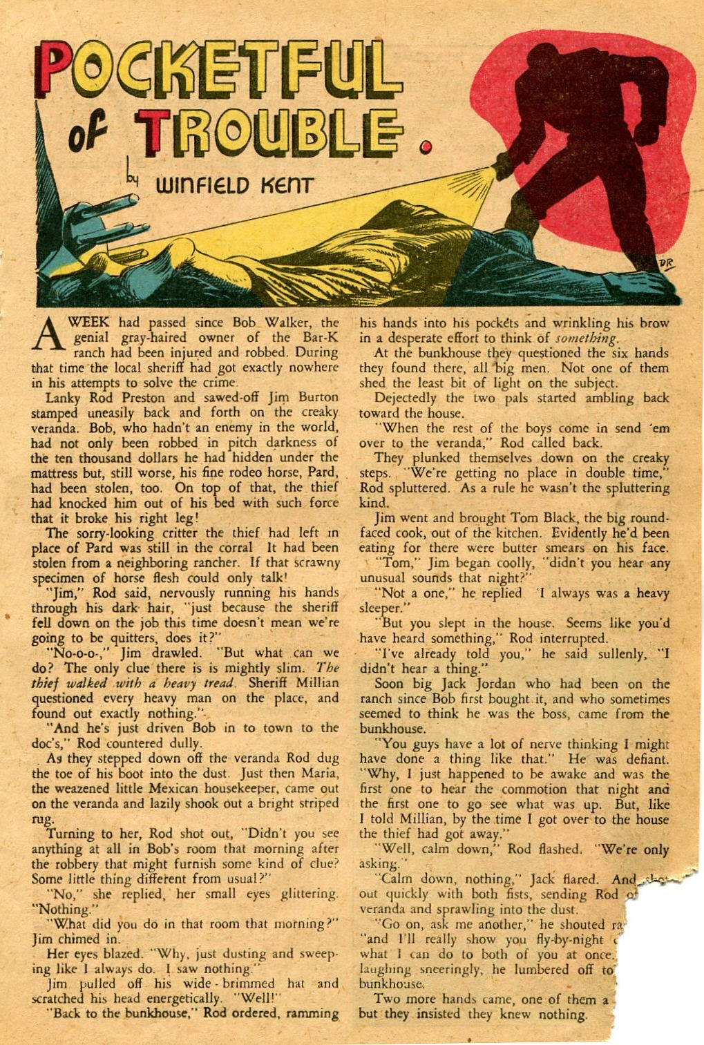 Read online Famous Funnies comic -  Issue #127 - 19