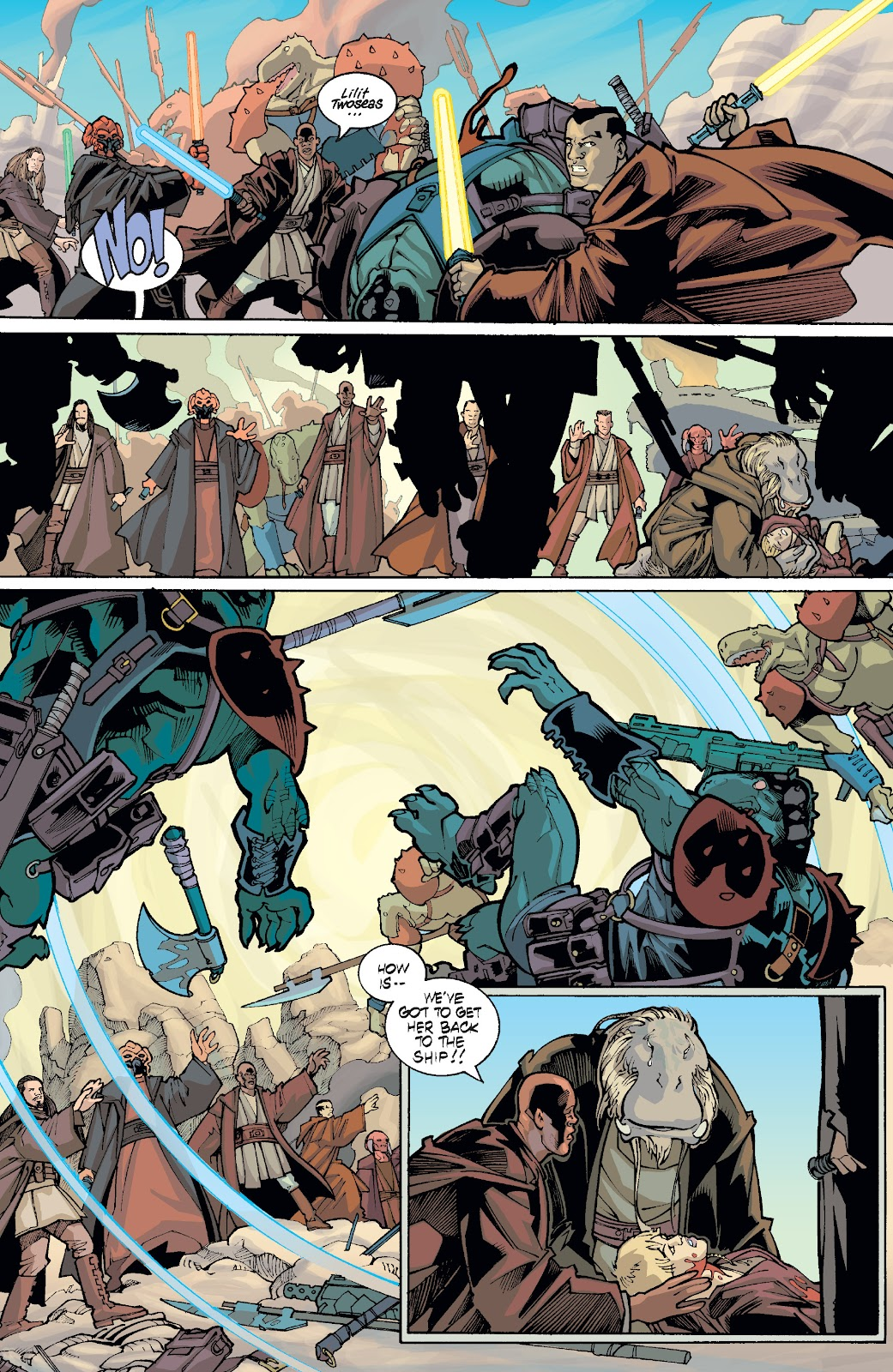 Read online Star Wars Legends: Rise of the Sith - Epic Collection comic -  Issue # TPB 1 (Part 5) - 34