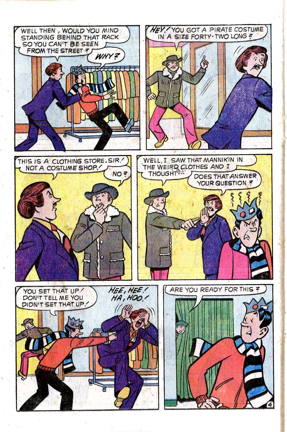 Read online Archie (1960) comic -  Issue #242 - 16