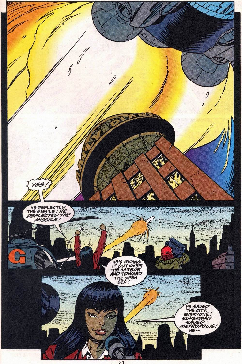 Read online Adventures of Superman (1987) comic -  Issue #504 - 22