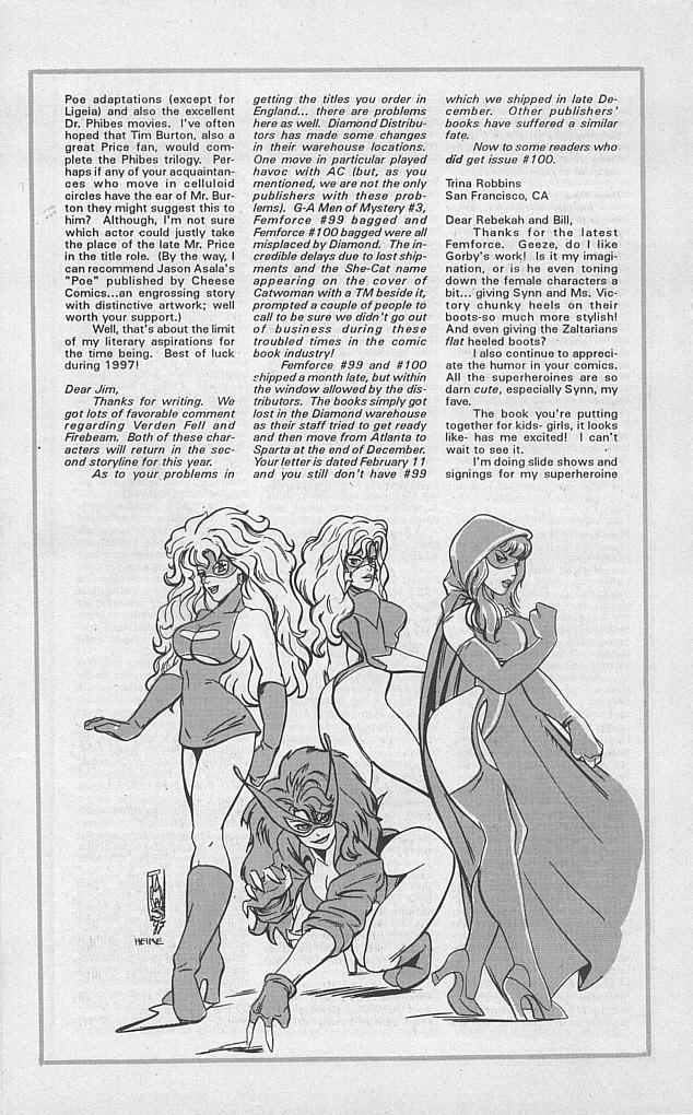 Femforce Issue #101 #101 - English 31