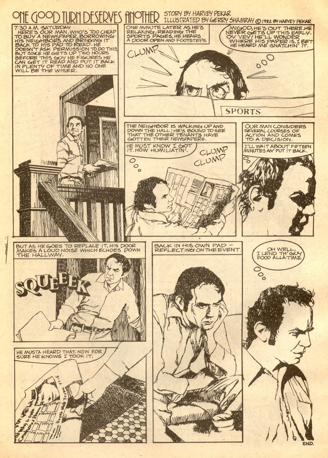 American Splendor (1976) issue 7 - Page 8