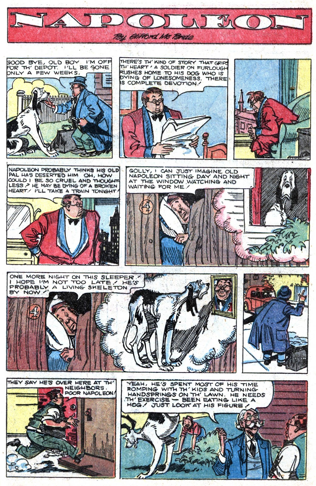 Read online Famous Funnies comic -  Issue #164 - 35