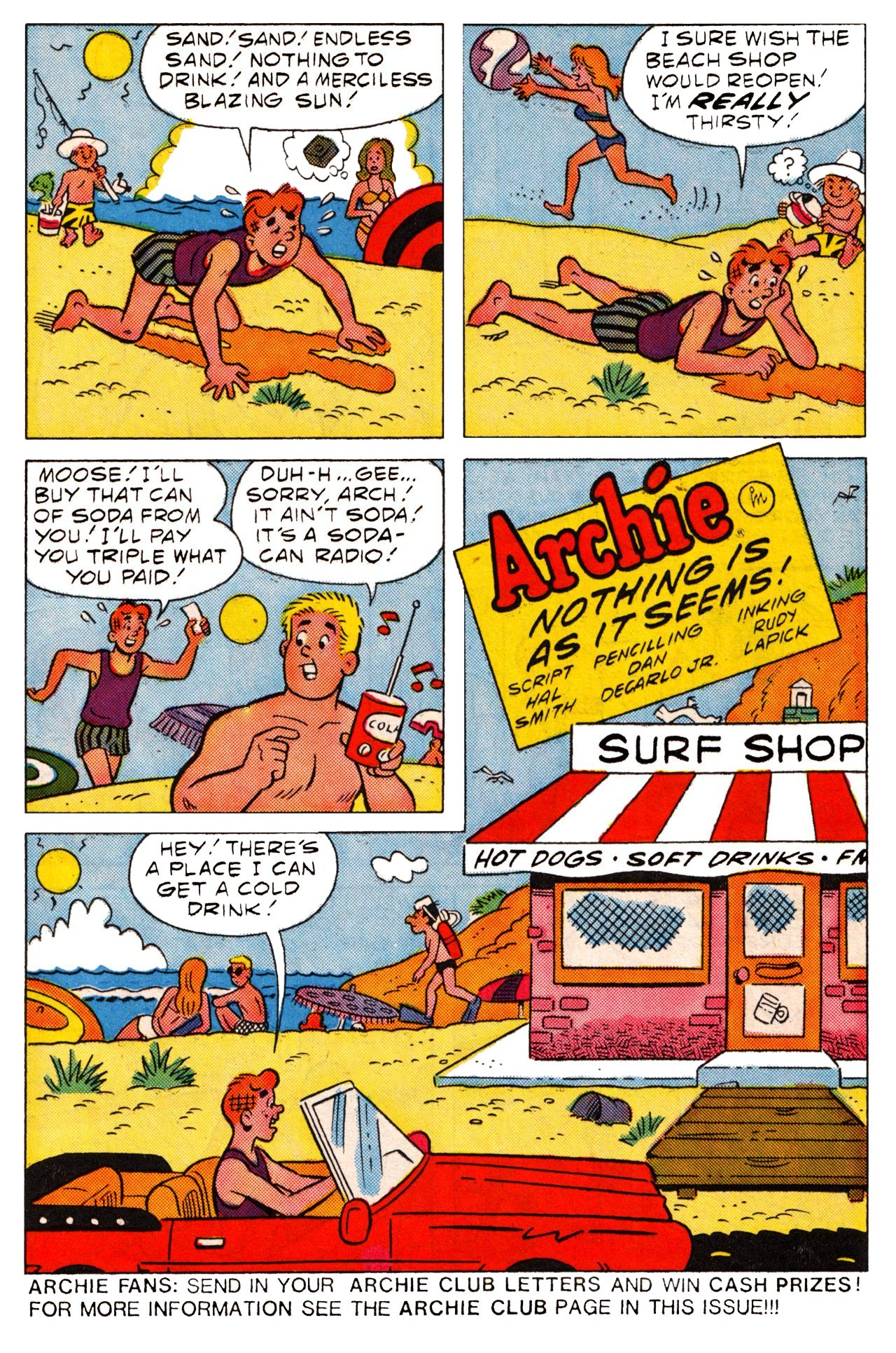 Read online Archie (1960) comic -  Issue #361 - 14