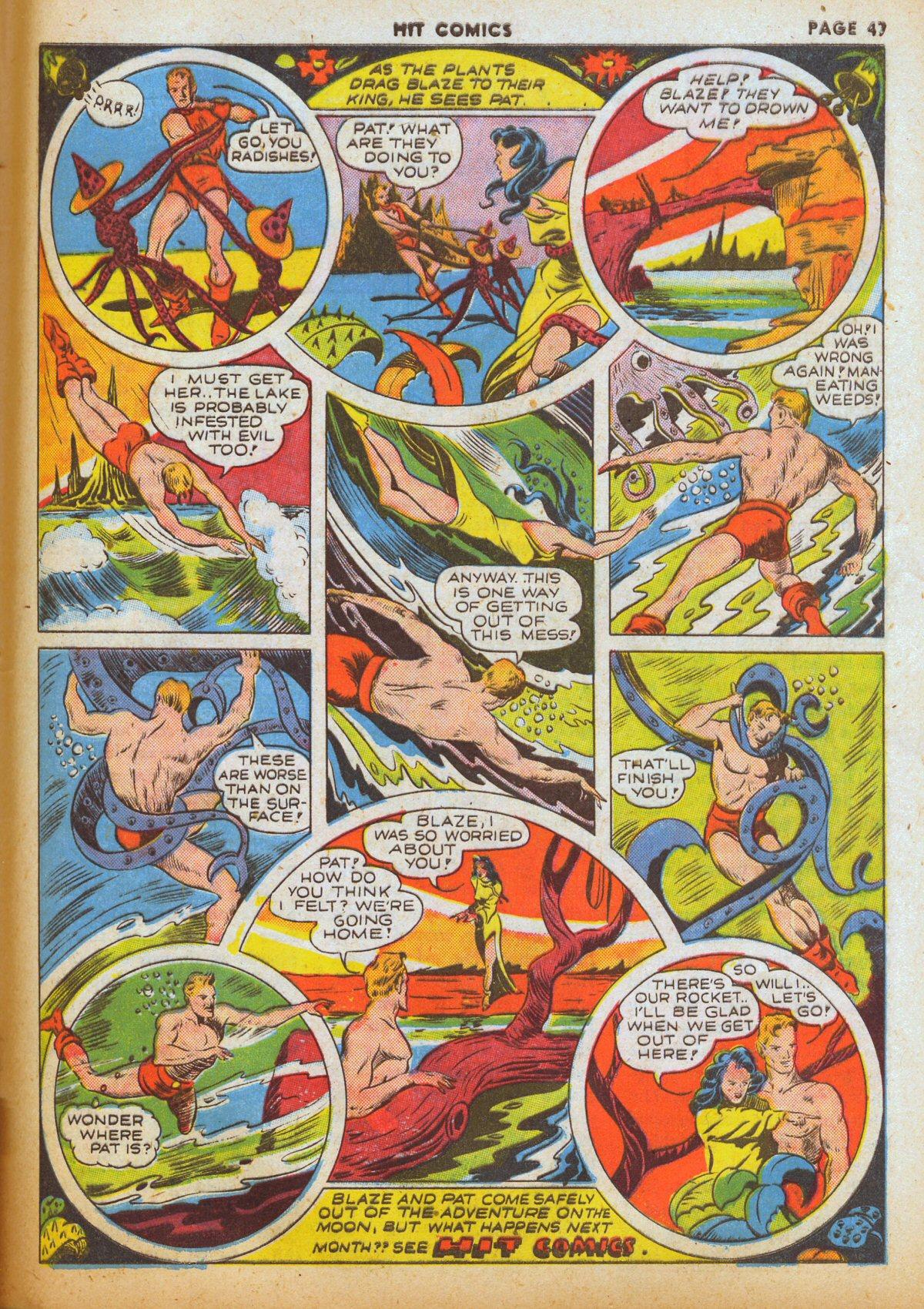 Read online Hit Comics comic -  Issue #12 - 49