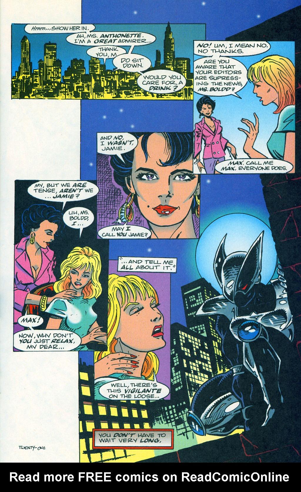 Read online ShadowHawk comic -  Issue #1 - 25