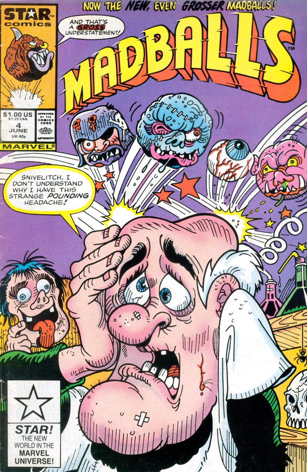 Madballs issue 4 - Page 1