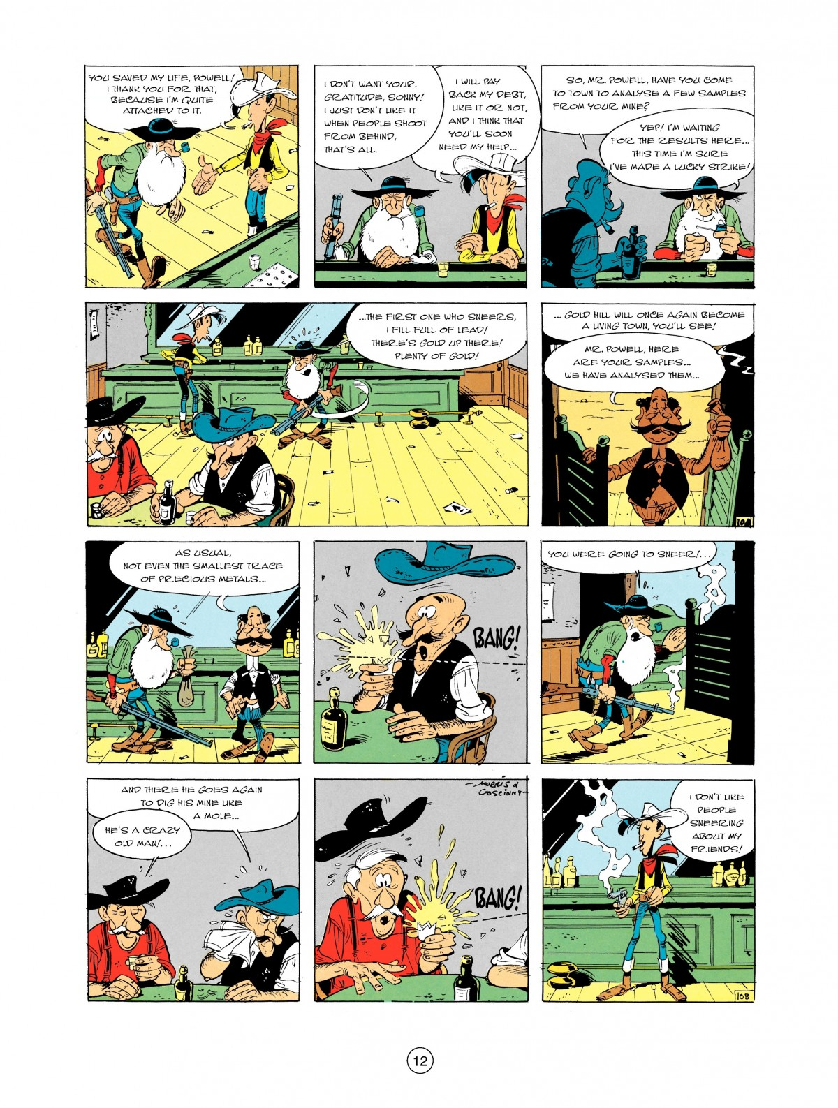 Read online A Lucky Luke Adventure comic -  Issue #2 - 14