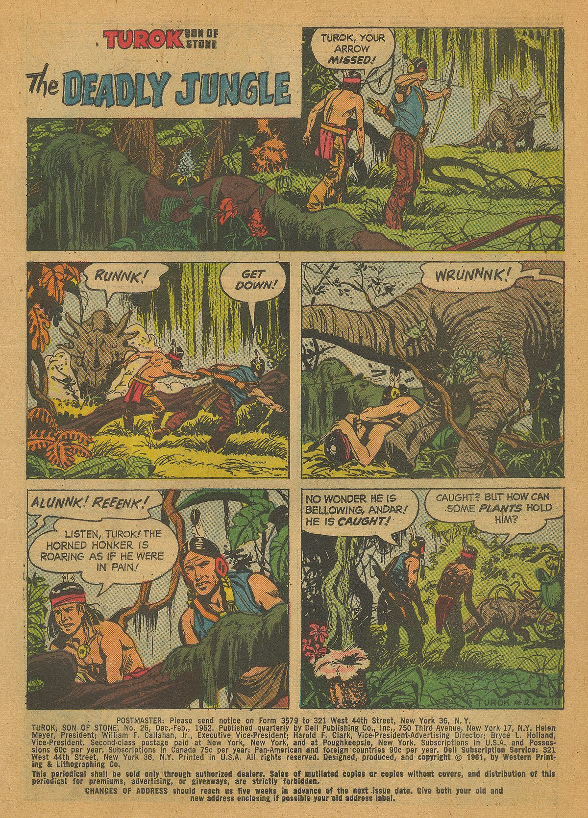 Read online Turok, Son of Stone comic -  Issue #26 - 3