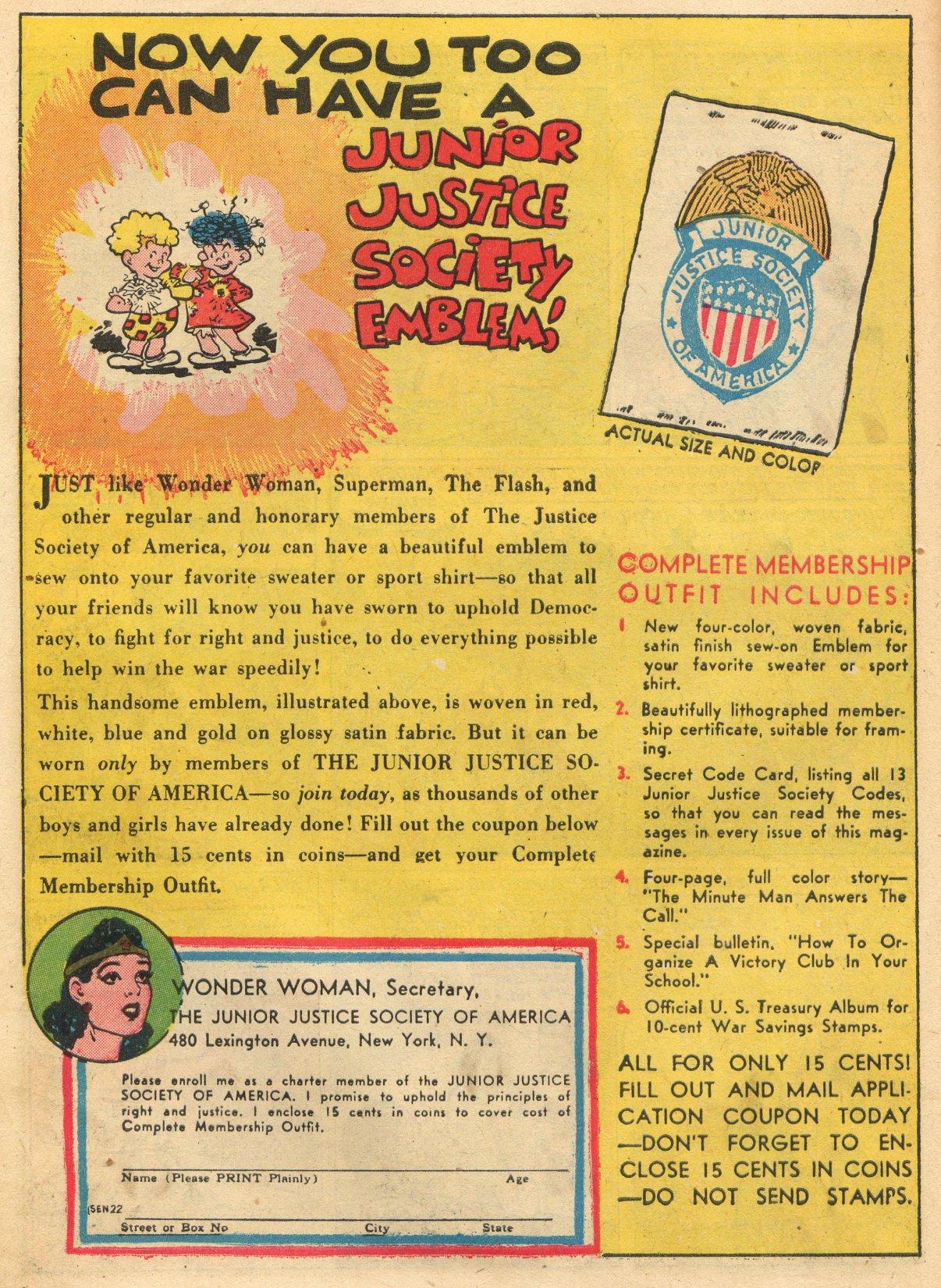 Read online Sensation (Mystery) Comics comic -  Issue #22 - 16