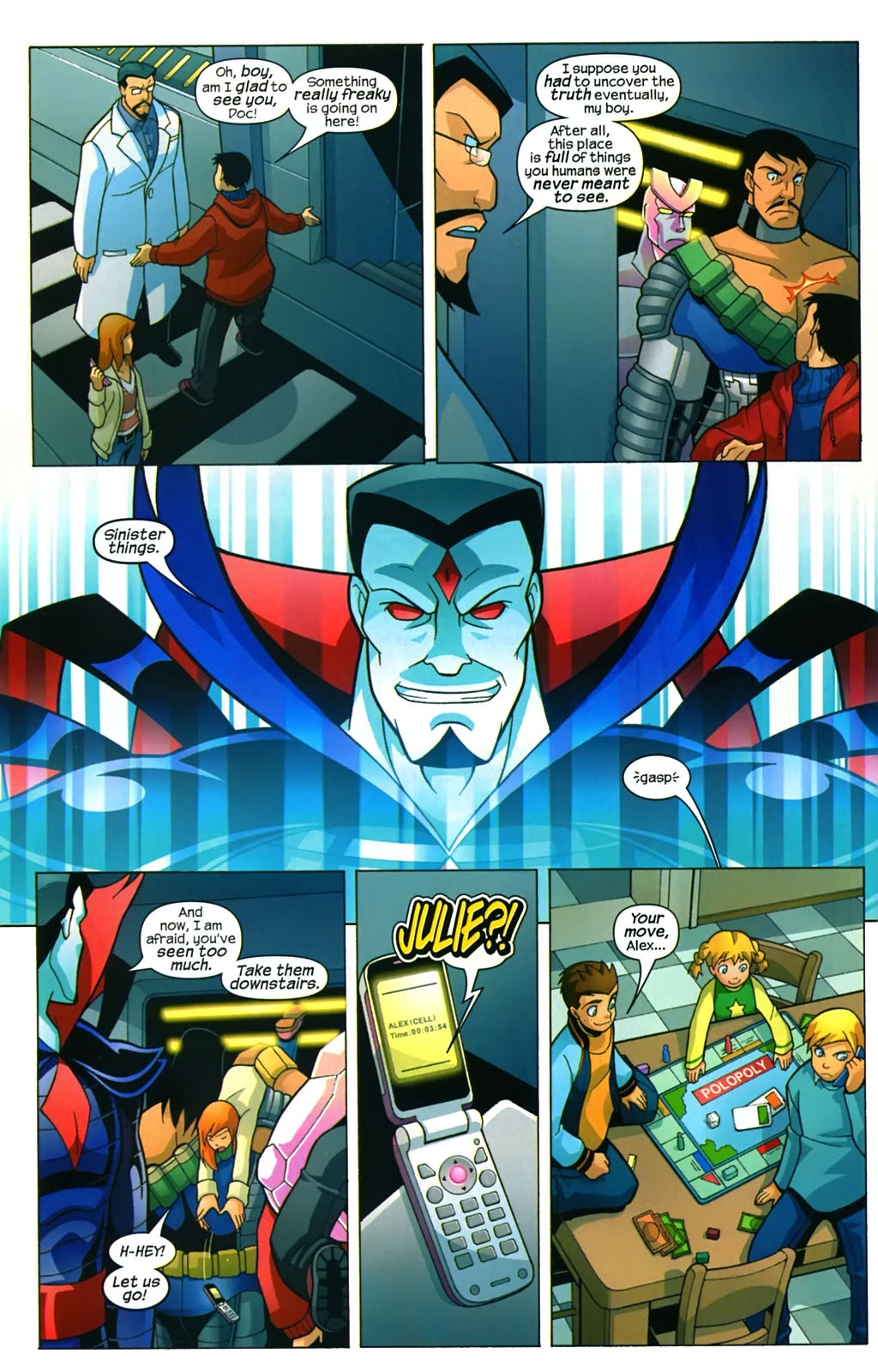 Read online X-Men and Power Pack comic -  Issue #4 - 15