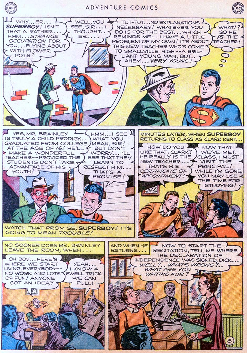Read online Adventure Comics (1938) comic -  Issue #158 - 5