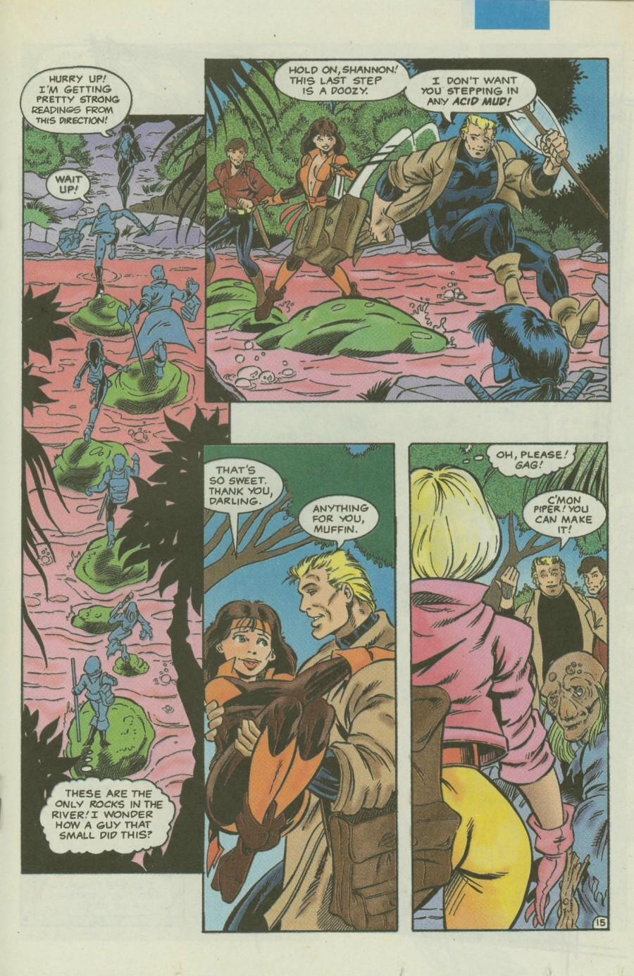 Read online Ex-Mutants comic -  Issue #4 - 18
