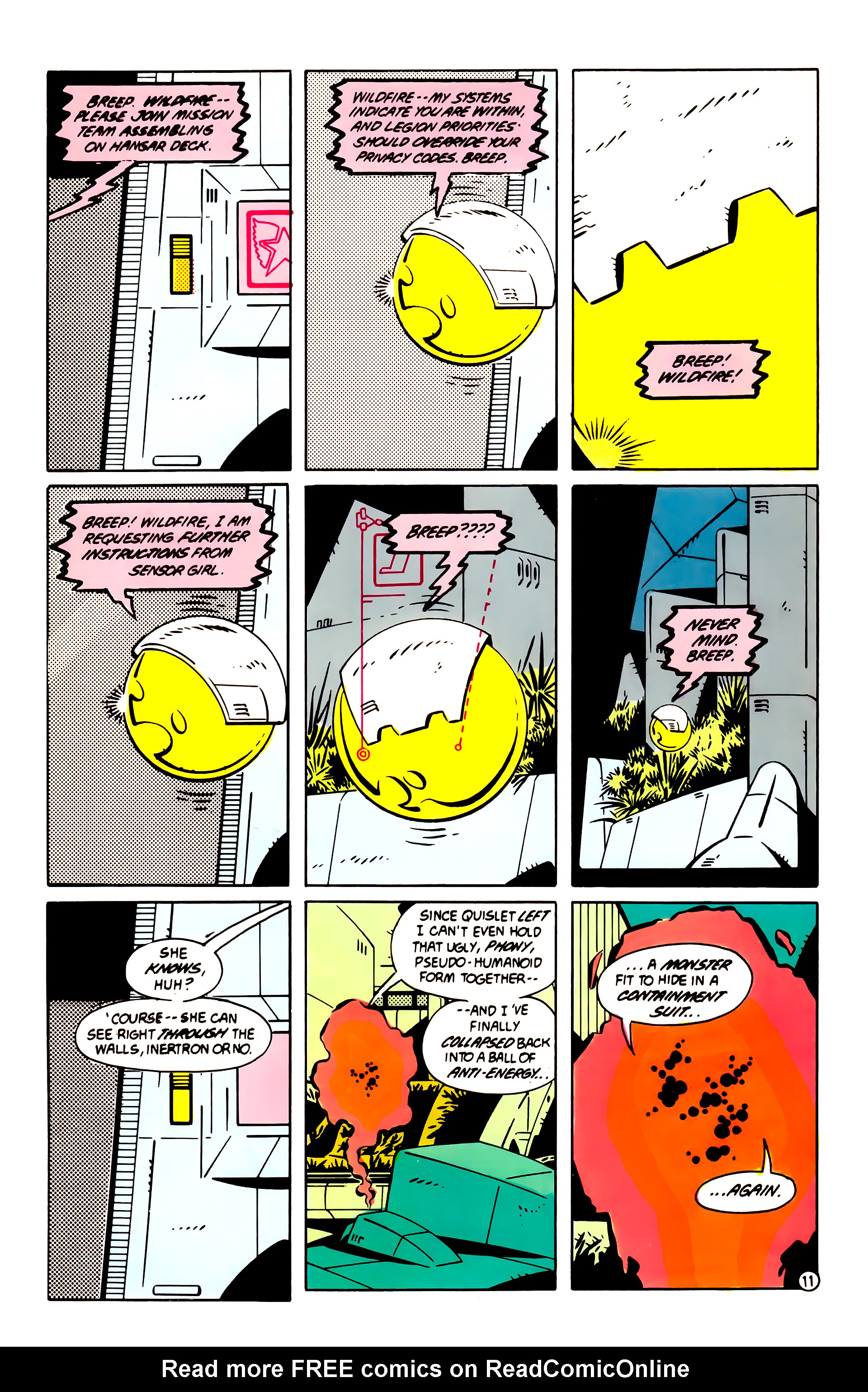 Legion of Super-Heroes (1984) 60 Page 11