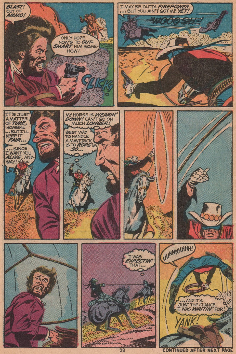 The Outlaw Kid (1970) issue 14 - Page 30