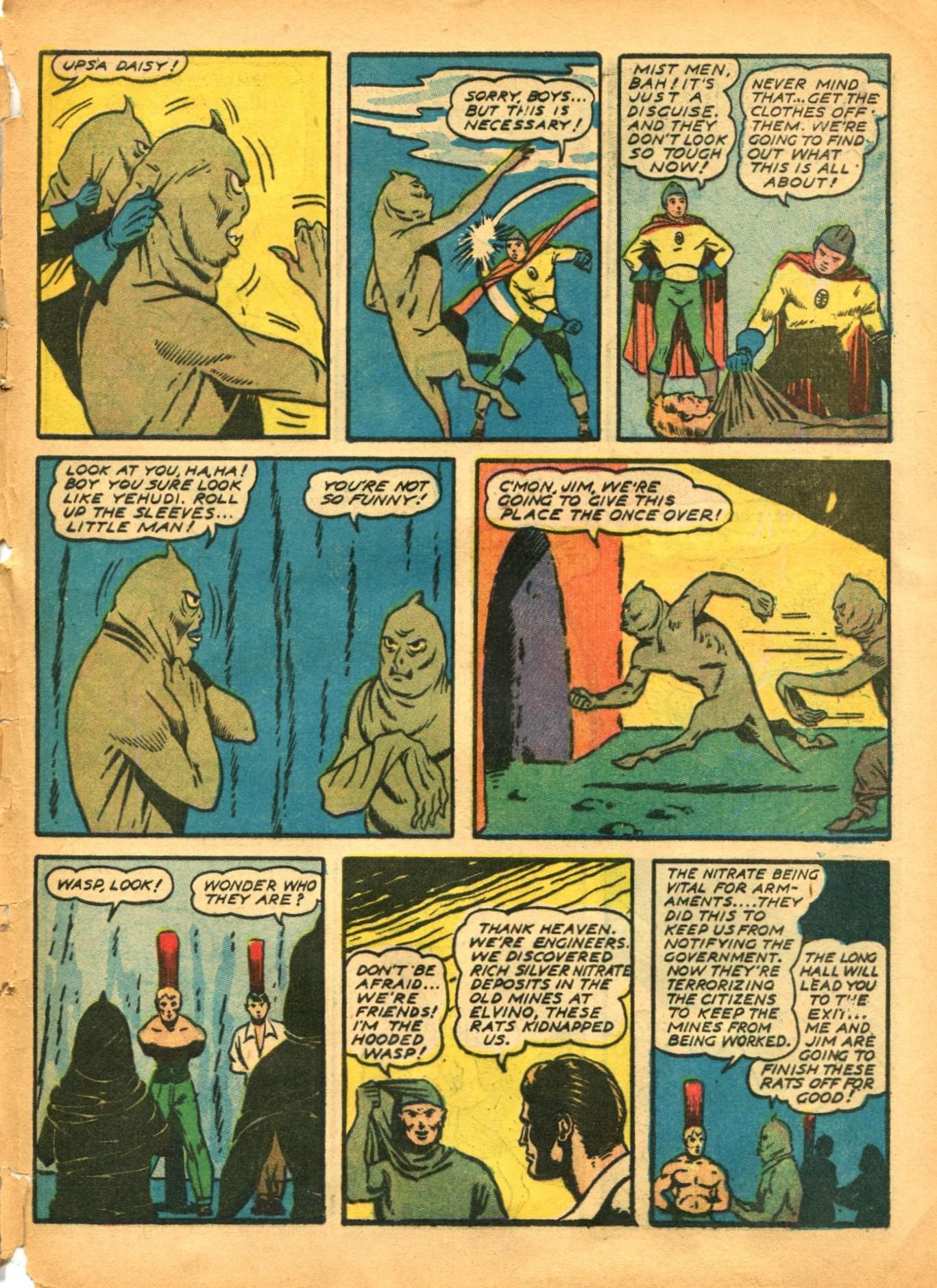 Read online Shadow Comics comic -  Issue #12 - 57