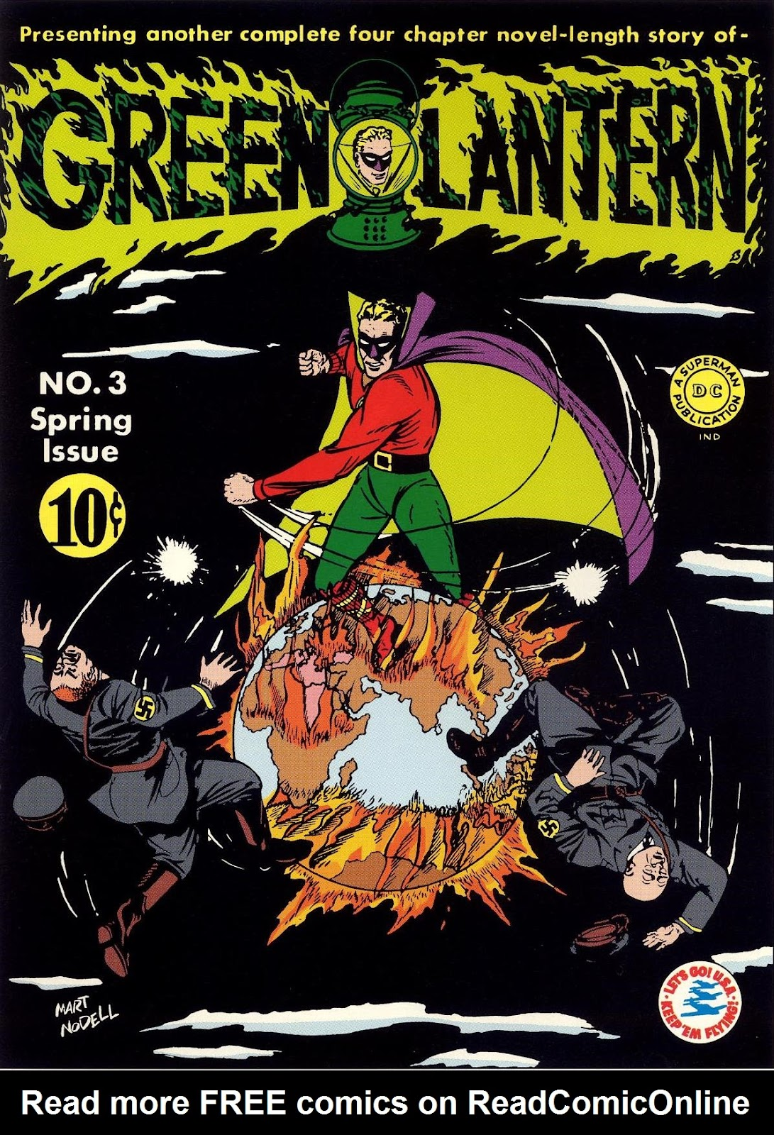 Green Lantern (1941) 3 Page 1
