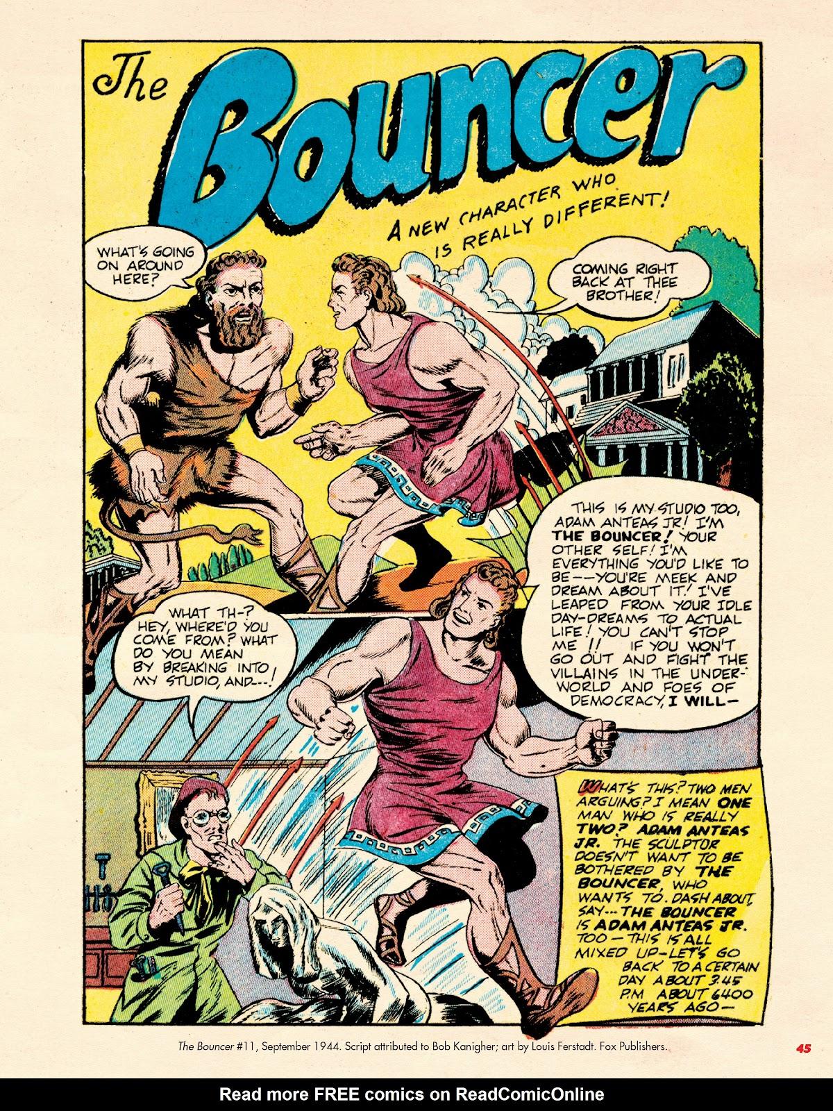 Read online Super Weird Heroes comic -  Issue # TPB 2 (Part 1) - 45