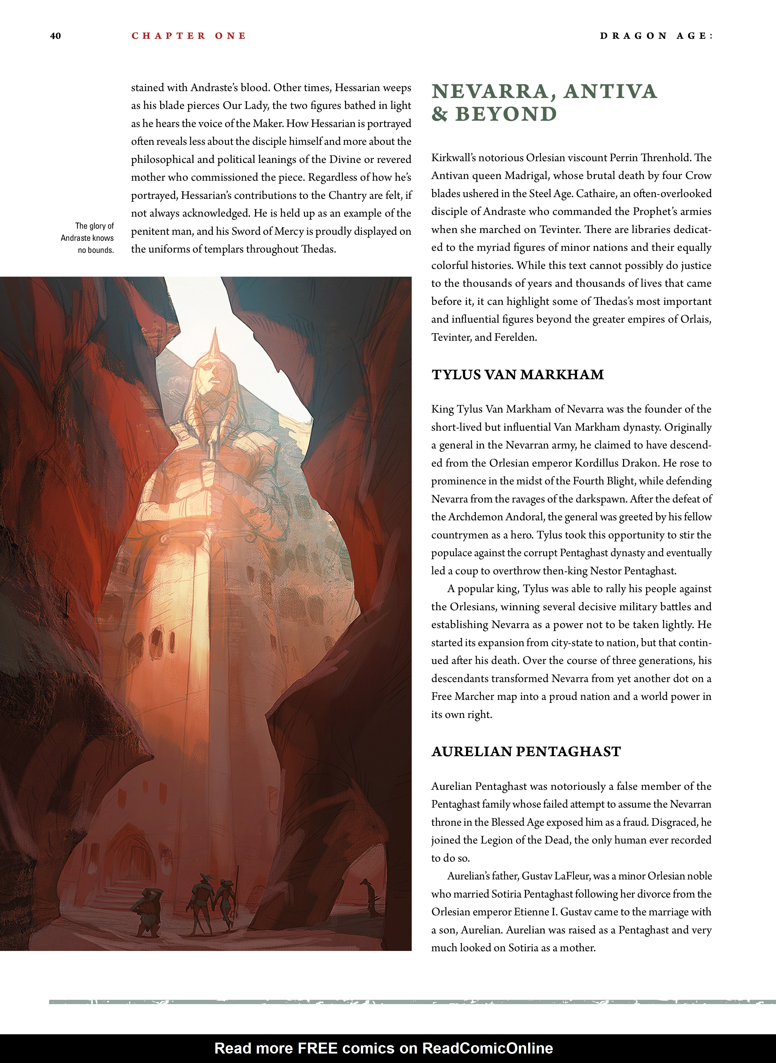 Read online Dragon Age: The World of Thedas comic -  Issue # TPB 2 - 37