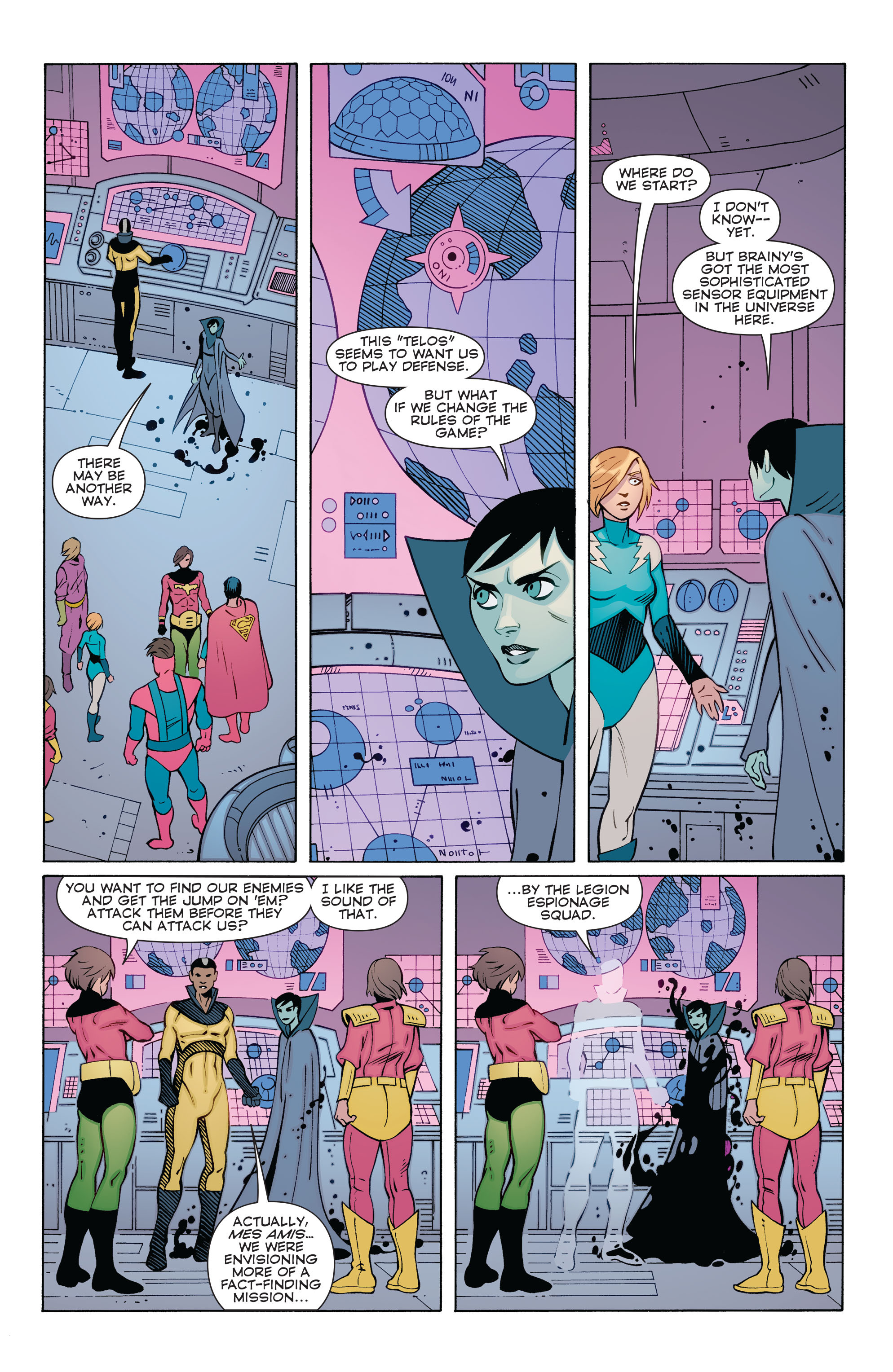 Read online Convergence Superboy and the Legion of Super-Heroes comic -  Issue #1 - 20