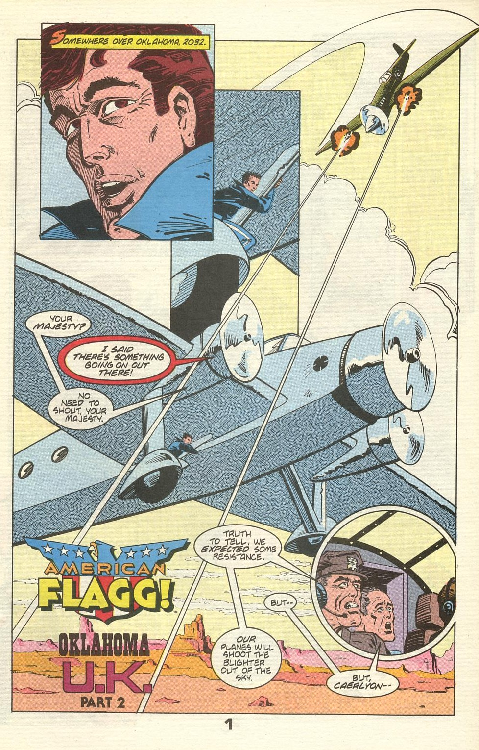 Read online American Flagg! comic -  Issue #36 - 3