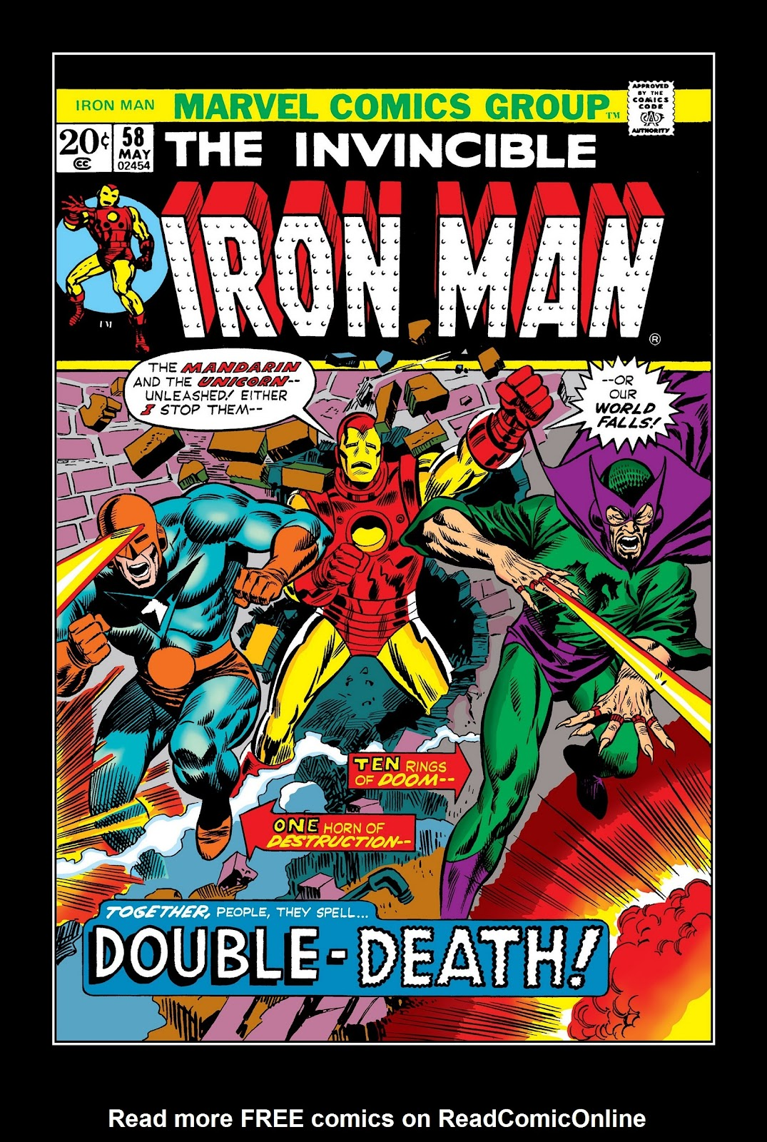 Read online Marvel Masterworks: The Invincible Iron Man comic -  Issue # TPB 9 (Part 1) - 91