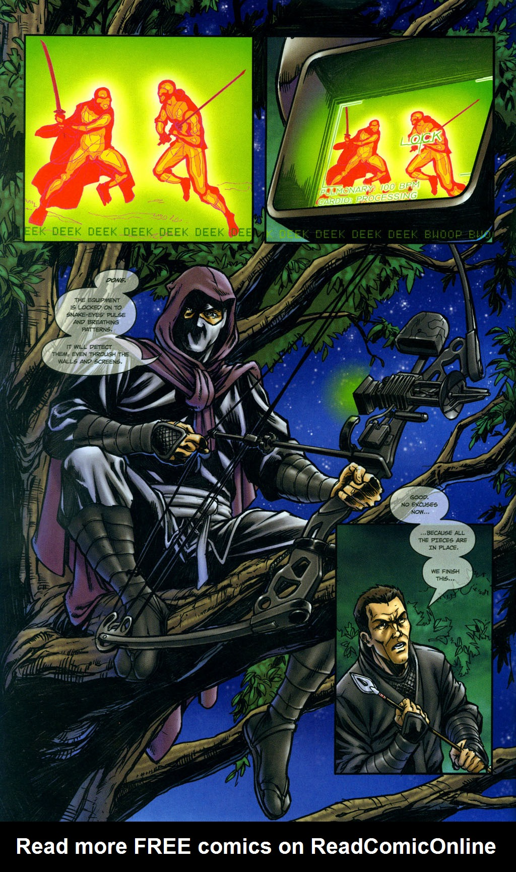 Read online Snake Eyes: Declassified comic -  Issue #5 - 7
