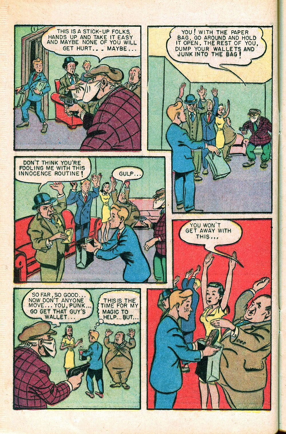 Read online Super-Magician Comics comic -  Issue #55 - 20