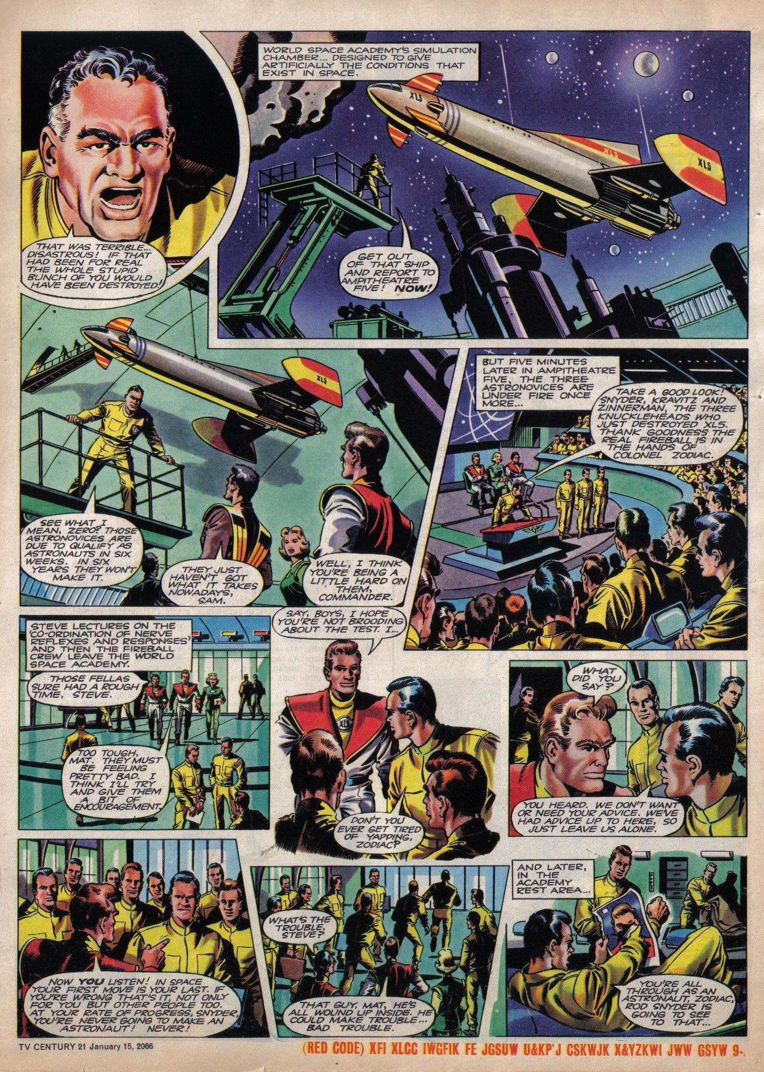 Read online TV Century 21 (TV 21) comic -  Issue #52 - 16