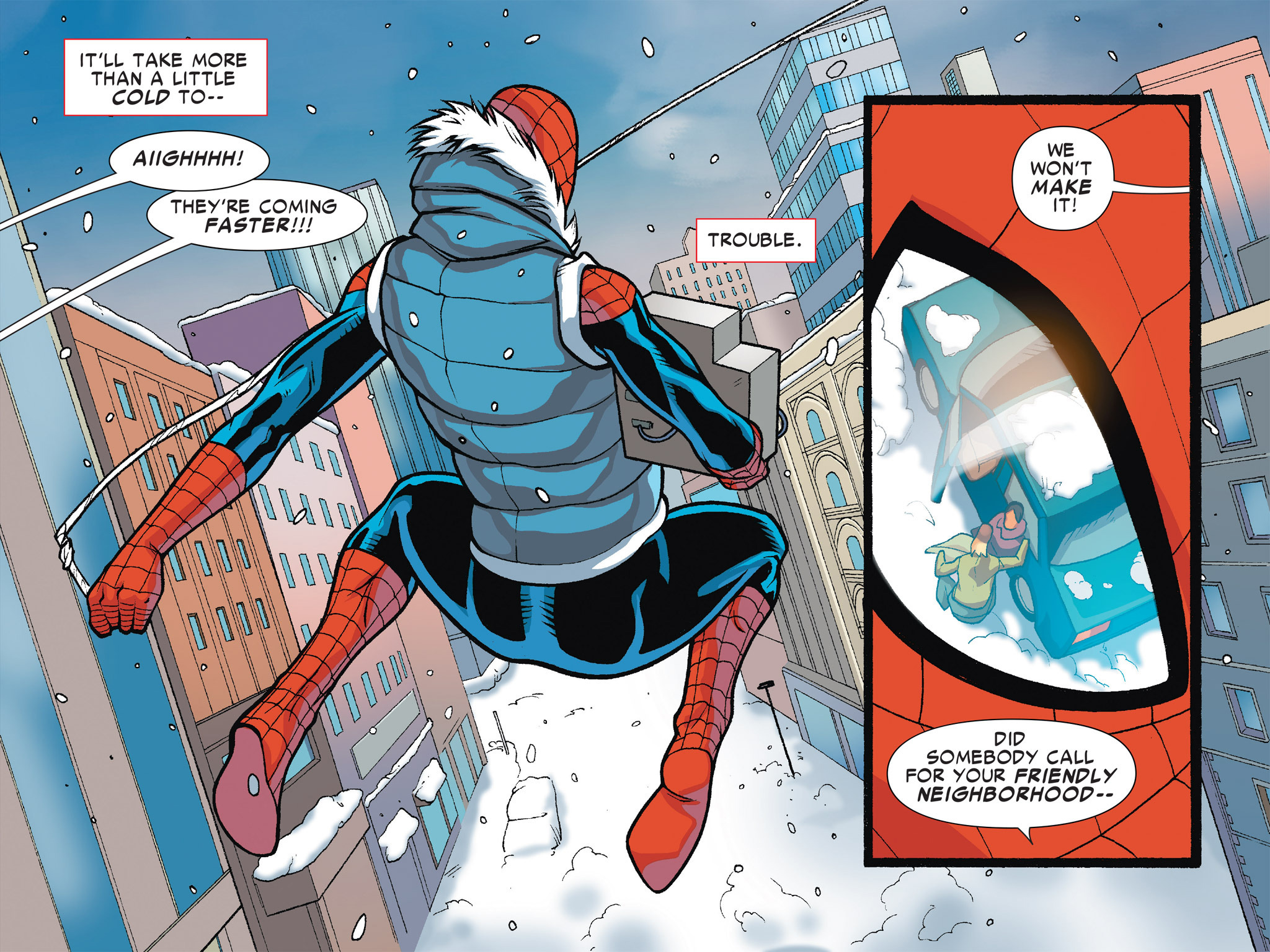 Read online Ultimate Spider-Man (Infinite Comics) (2016) comic -  Issue #7 - 16