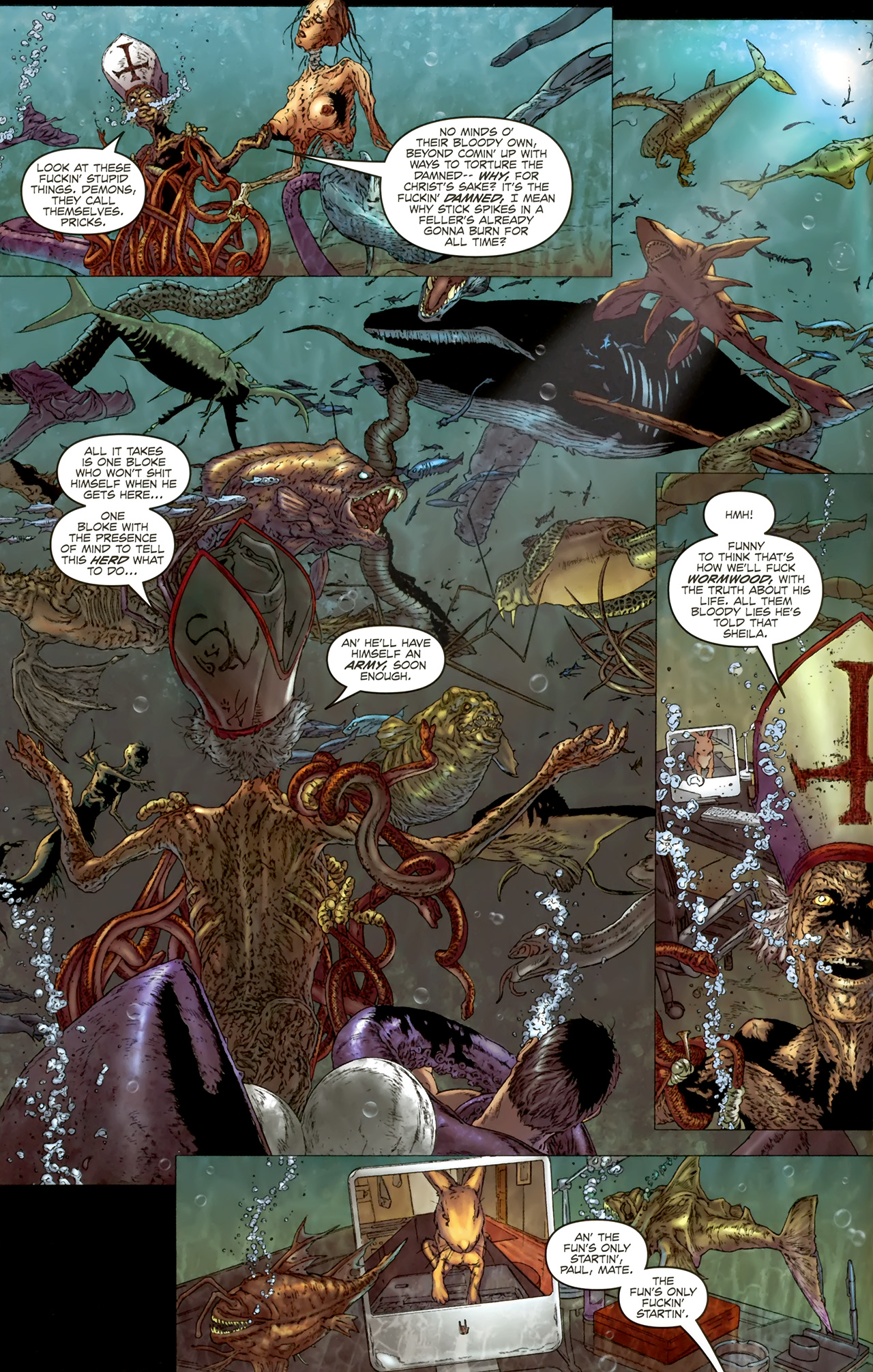 Read online Chronicles of Wormwood: The Last Battle comic -  Issue #4 - 15
