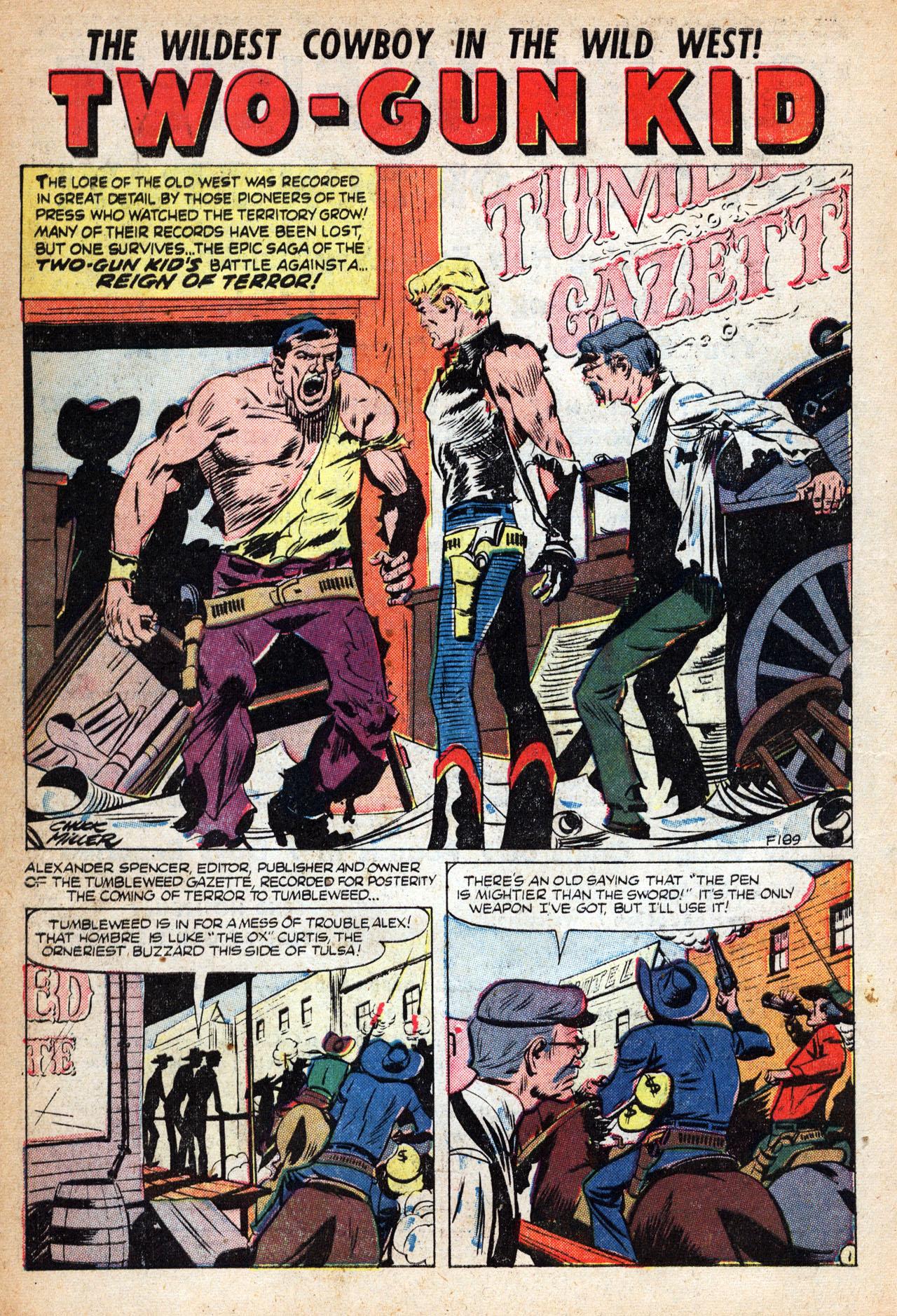 Read online Two-Gun Kid comic -  Issue #18 - 10