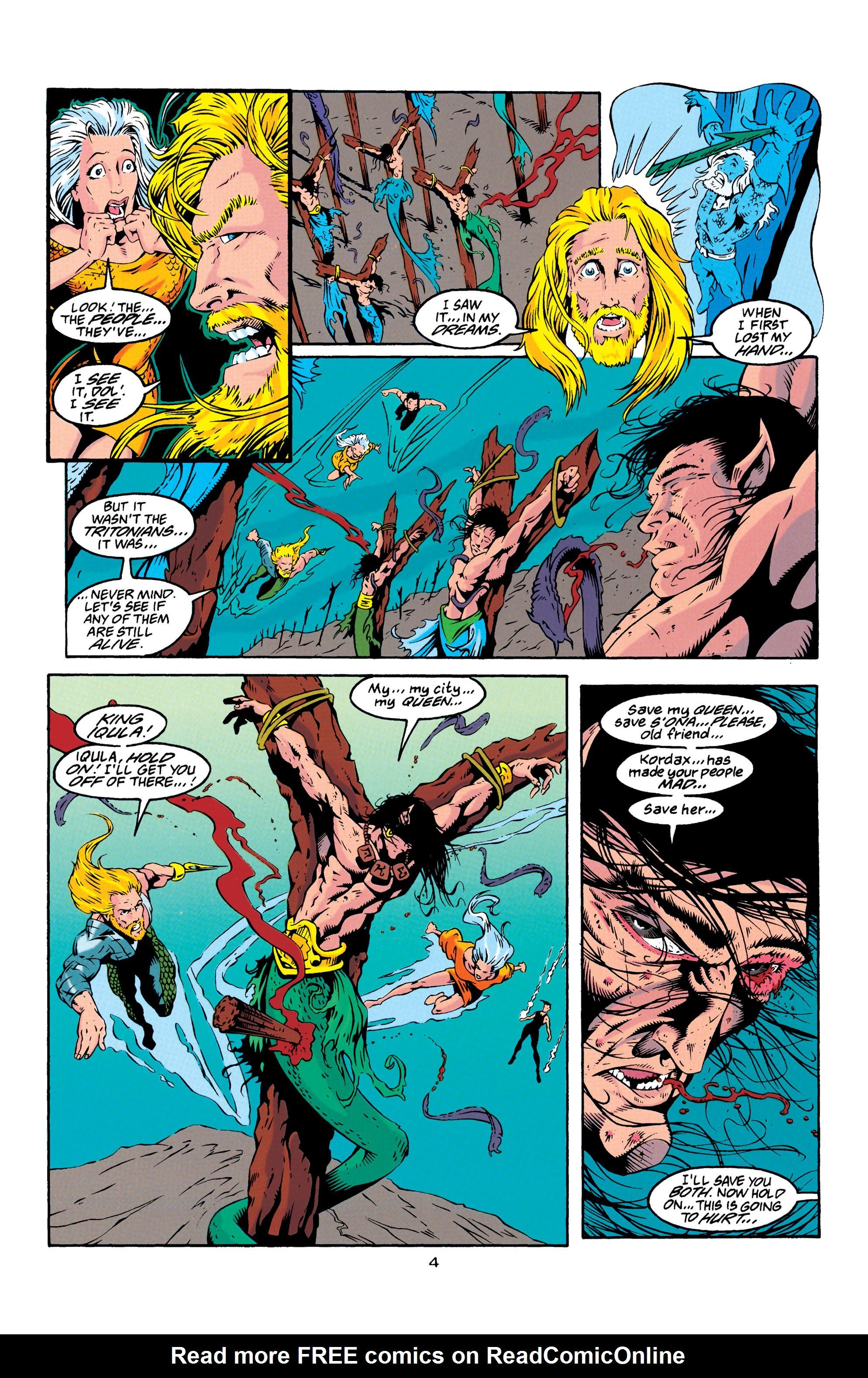 Read online Aquaman (1994) comic -  Issue #23 - 4