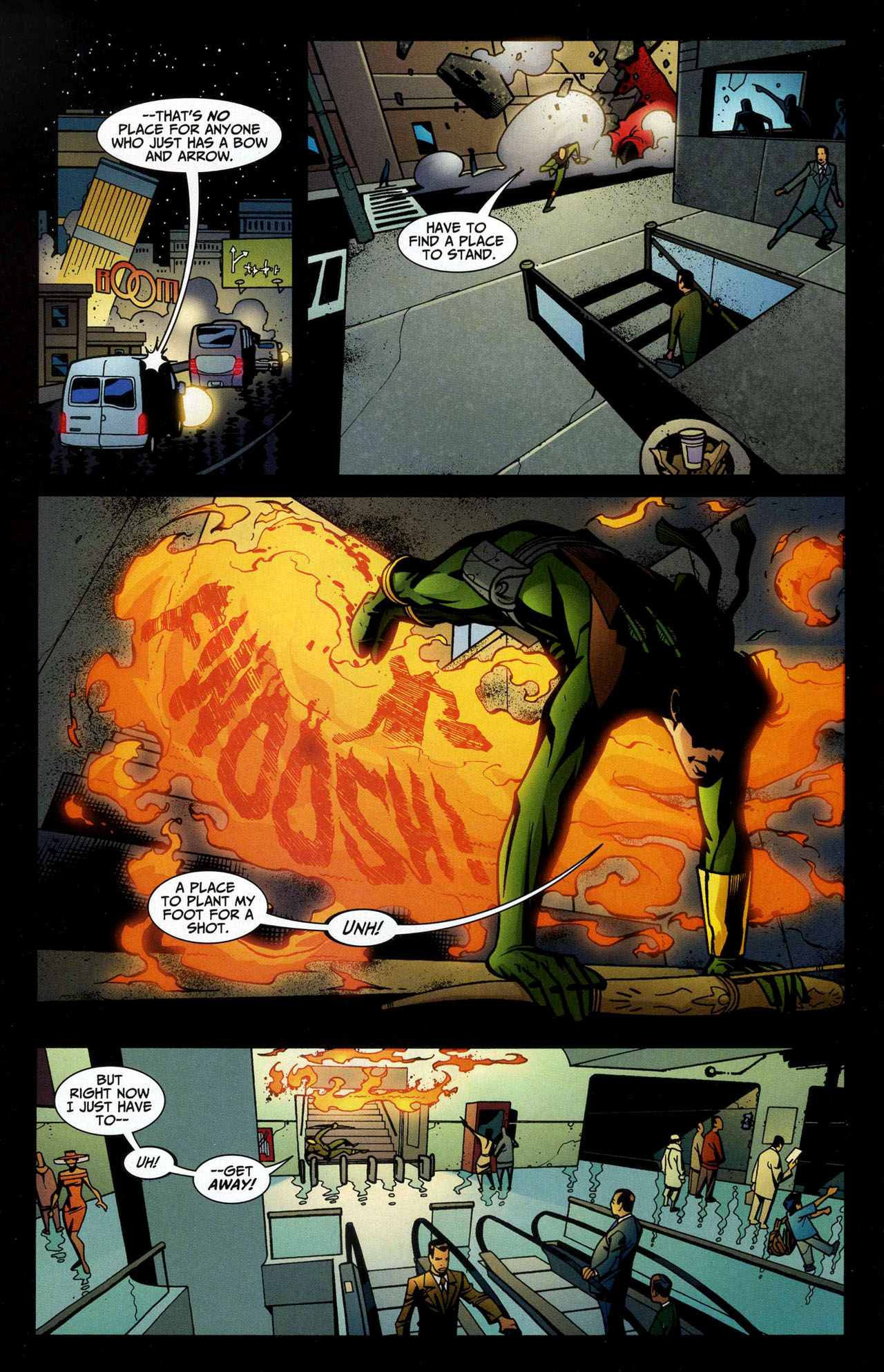 Read online Connor Hawke:  Dragon's Blood comic -  Issue #5 - 8