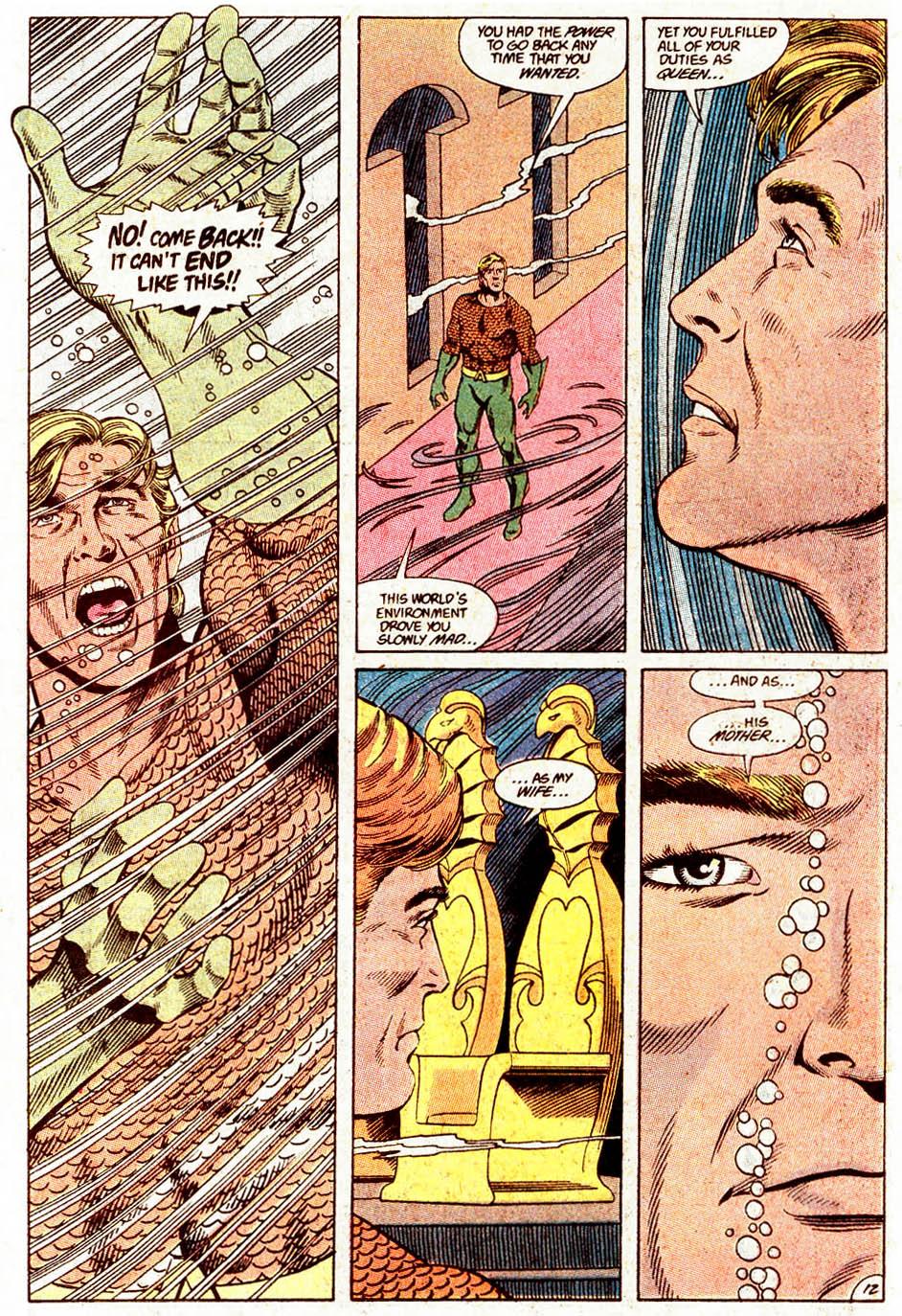 Read online Aquaman (1989) comic -  Issue #4 - 13