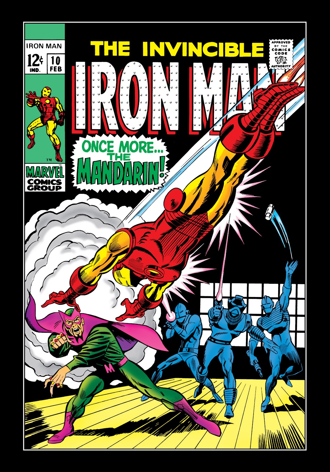 Read online Marvel Masterworks: The Invincible Iron Man comic -  Issue # TPB 5 (Part 2) - 75