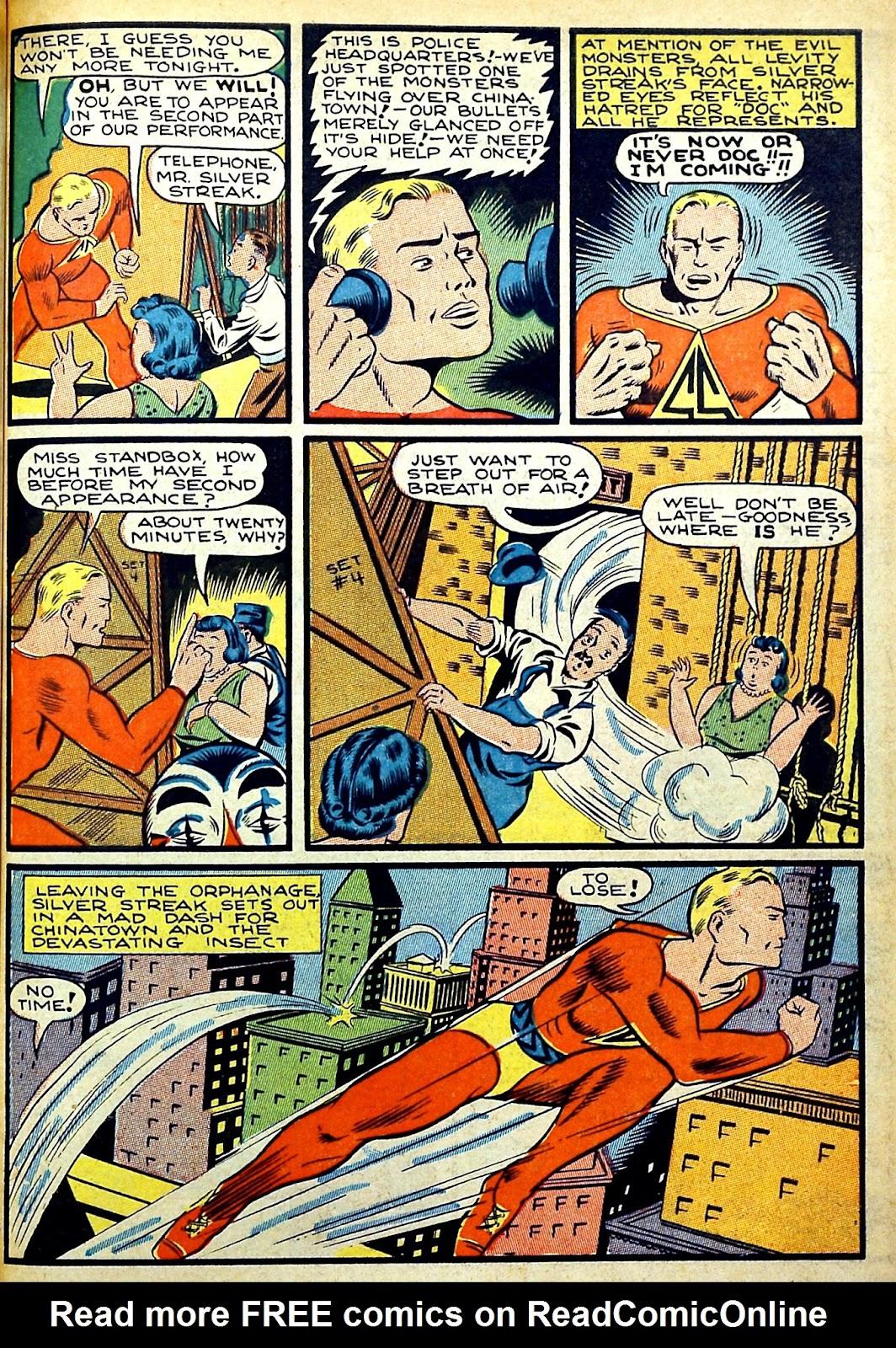 Read online Silver Streak Comics comic -  Issue #22 - 5