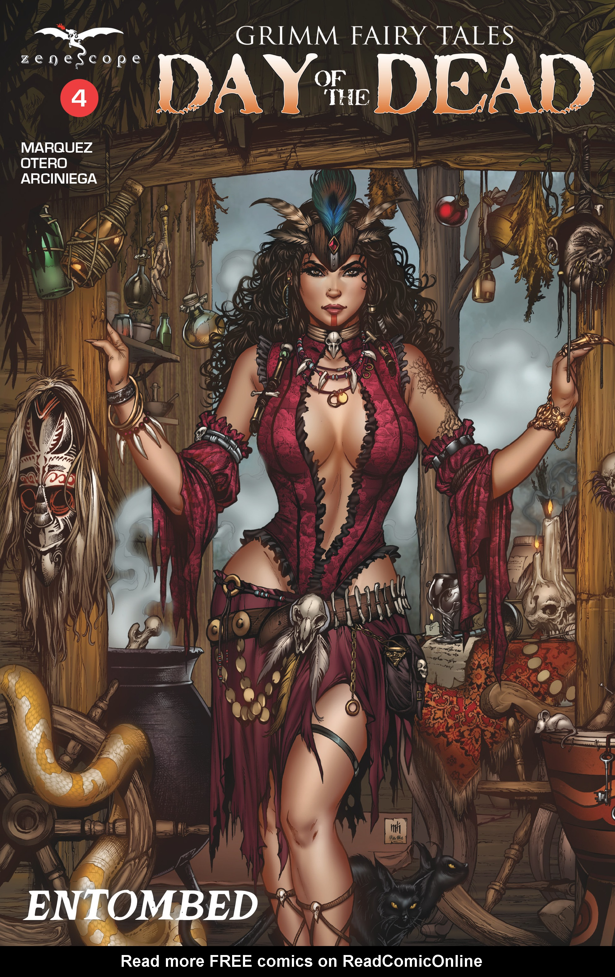 Read online Grimm Fairy Tales: Day of the Dead comic -  Issue #4 - 1