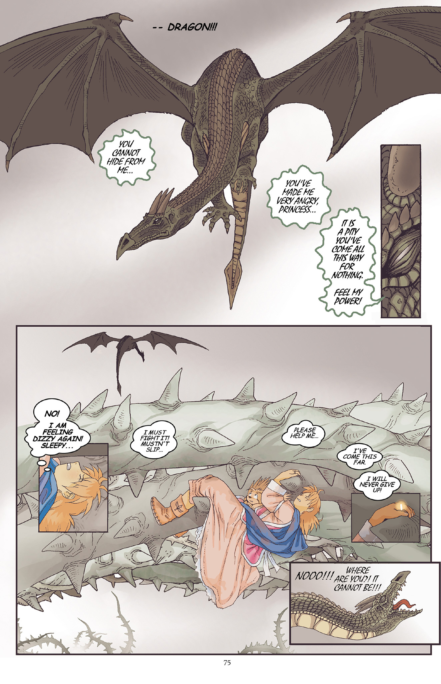 Read online Courageous Princess comic -  Issue # TPB 1 - 76