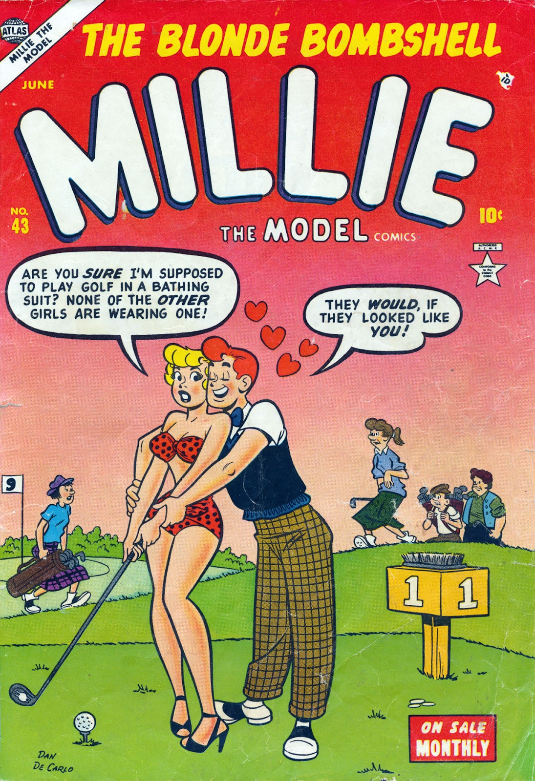 Millie the Model 43 Page 1